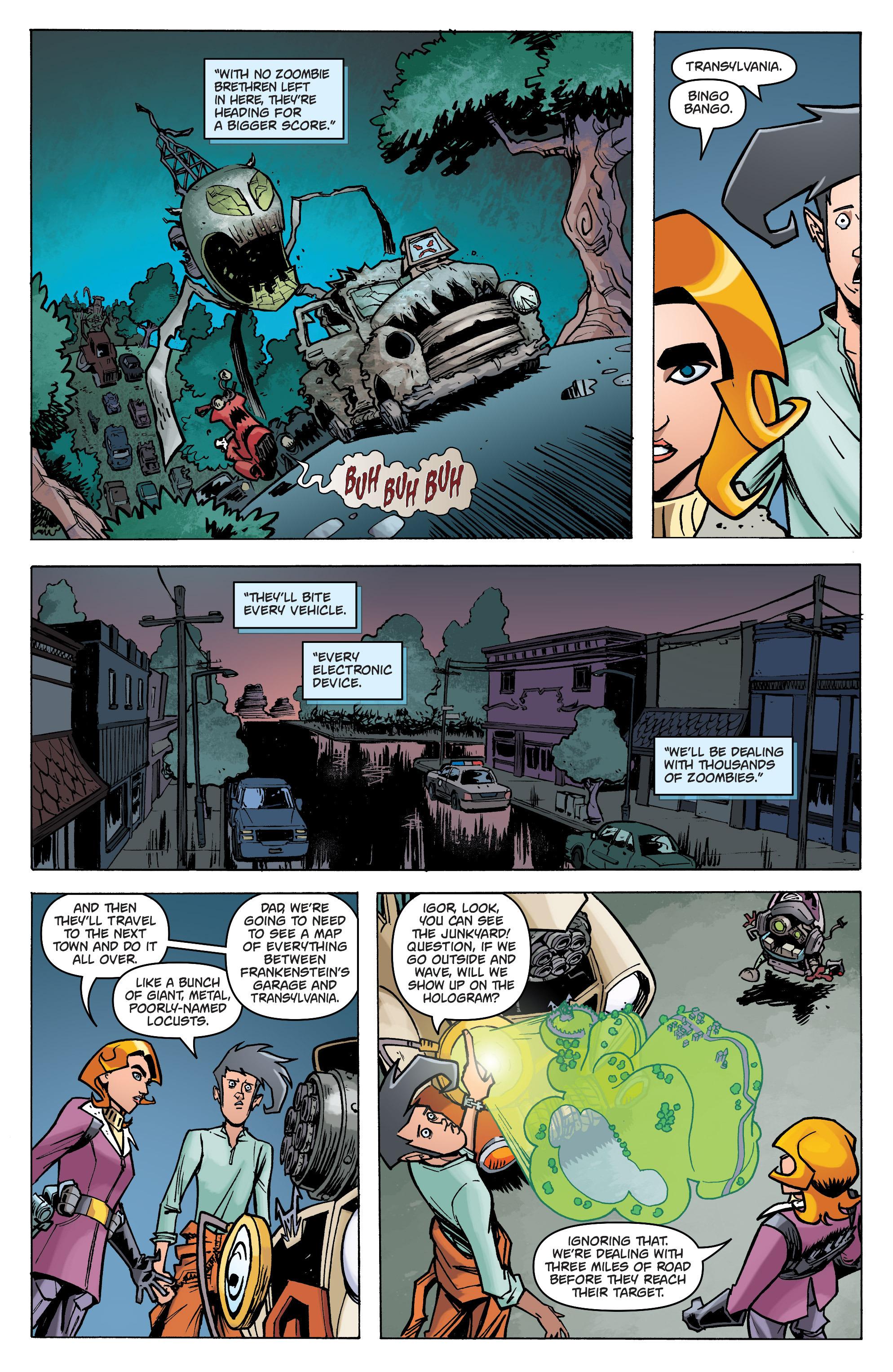 Read online Monster Motors: The Curse of Minivan Helsing comic -  Issue #2 - 14