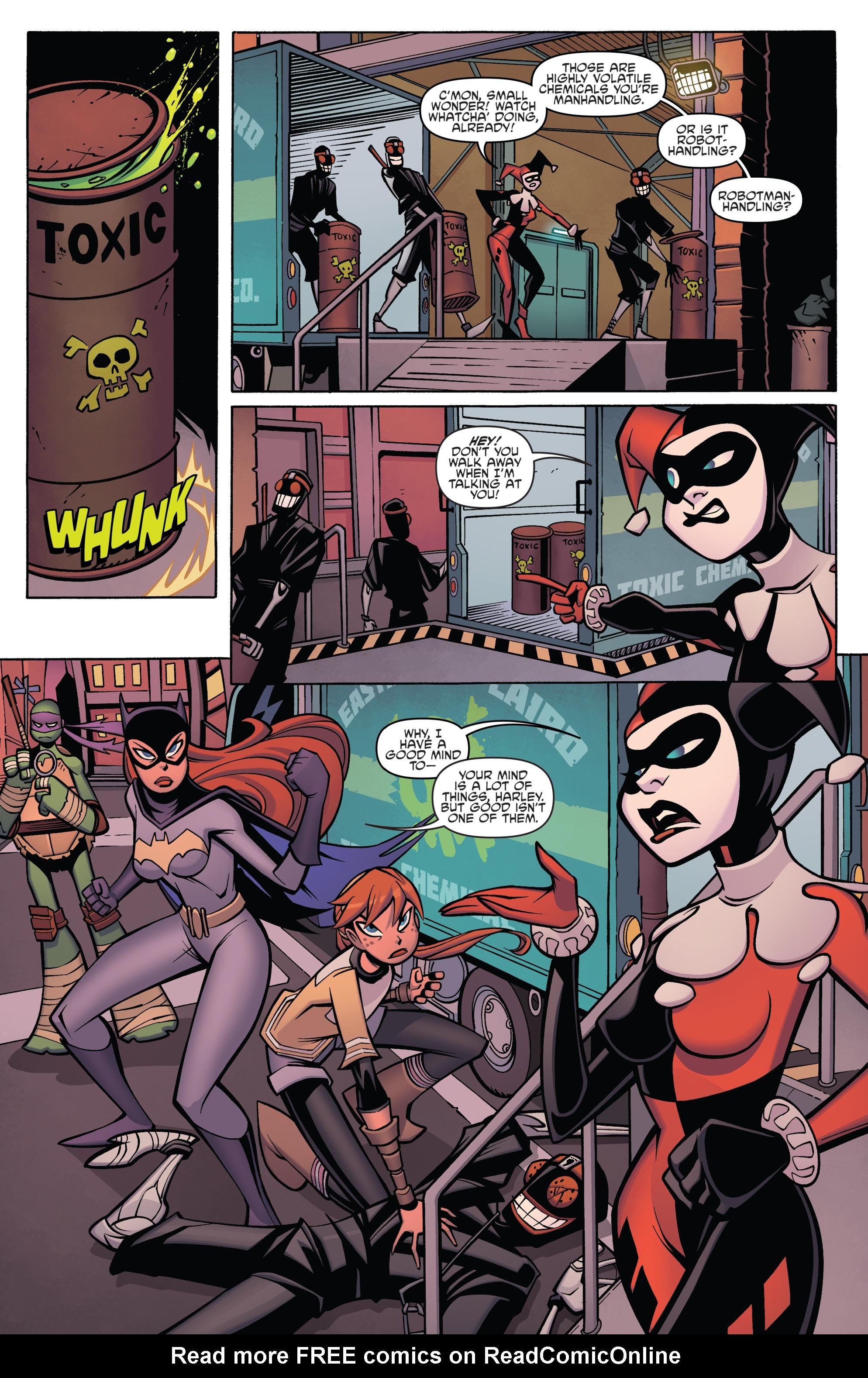 Read online Batman/Teenage Mutant Ninja Turtles Adventure comic -  Issue #4 - 12