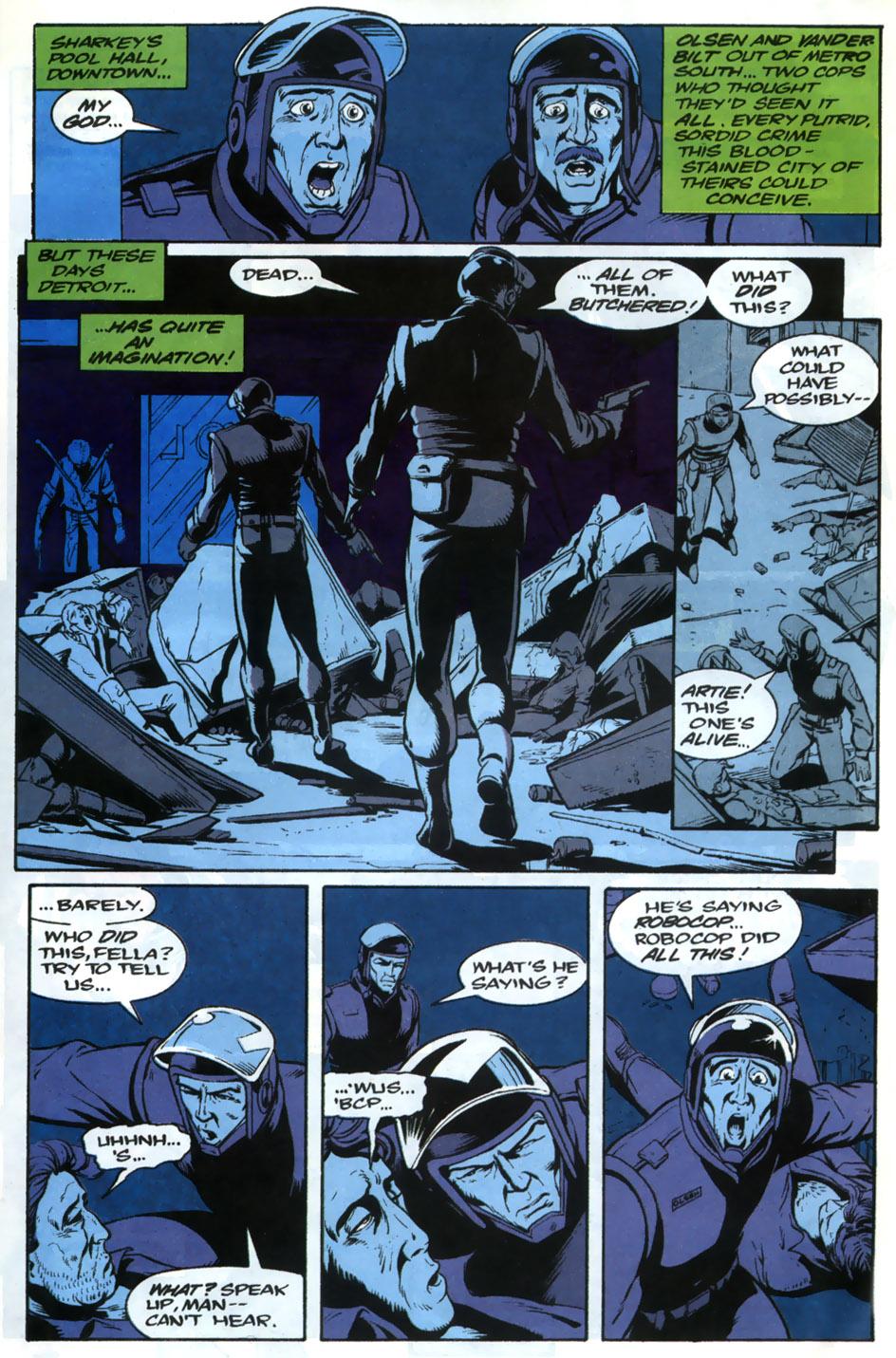 Read online Robocop (1990) comic -  Issue #20 - 13