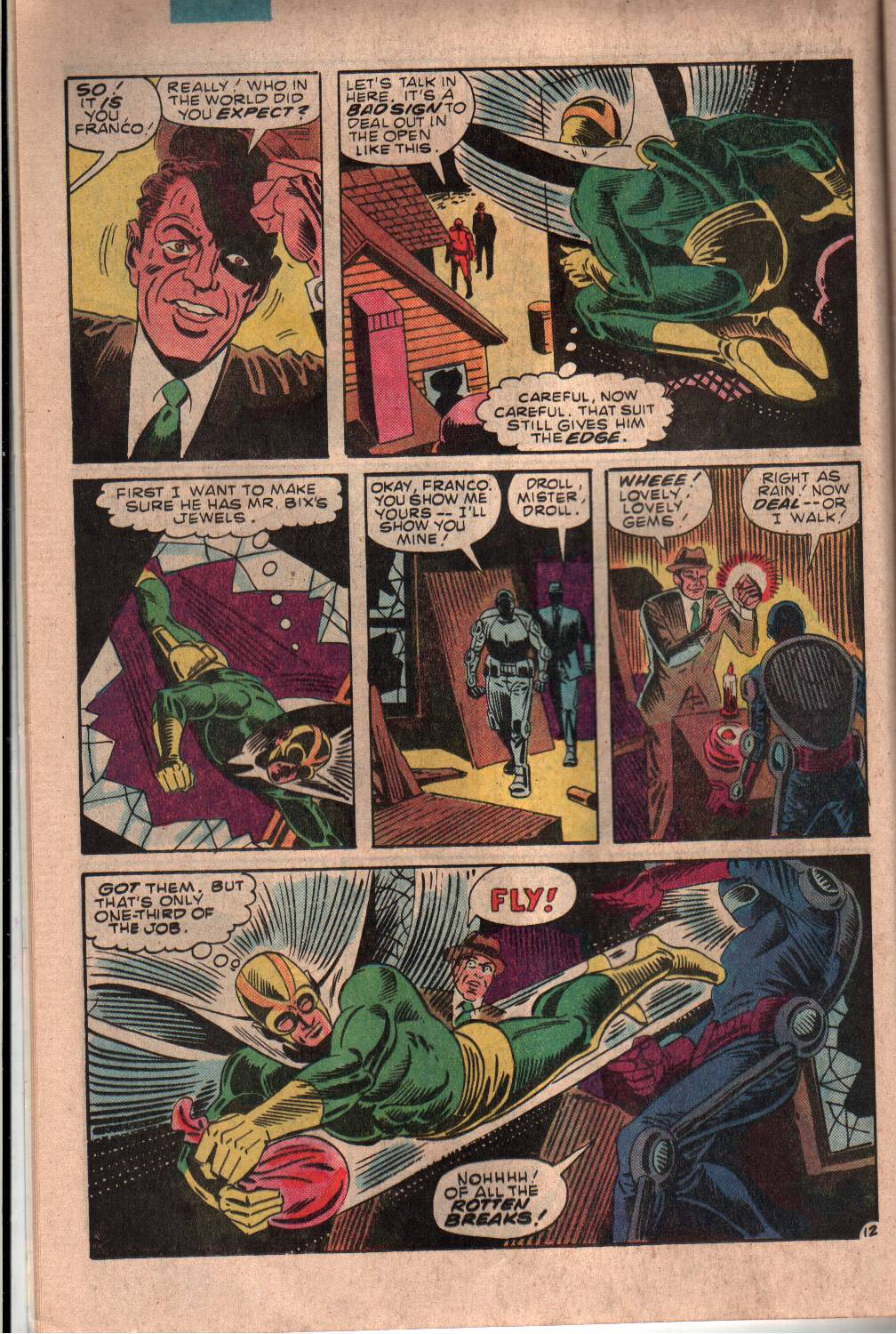 Read online The Fly (1983) comic -  Issue #7 - 13