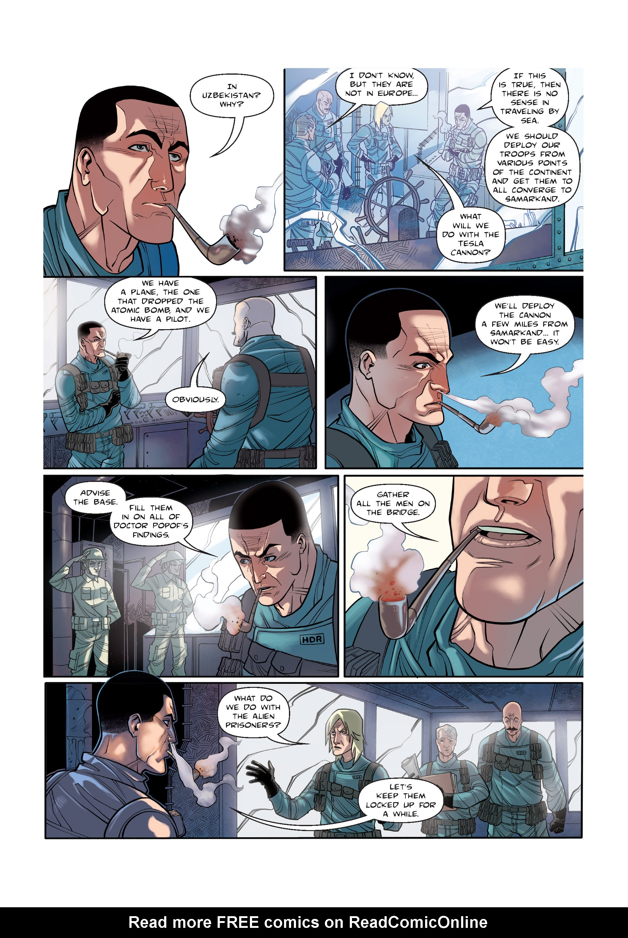 Read online The Shadow of a Terrible Thing comic -  Issue # TPB - 78