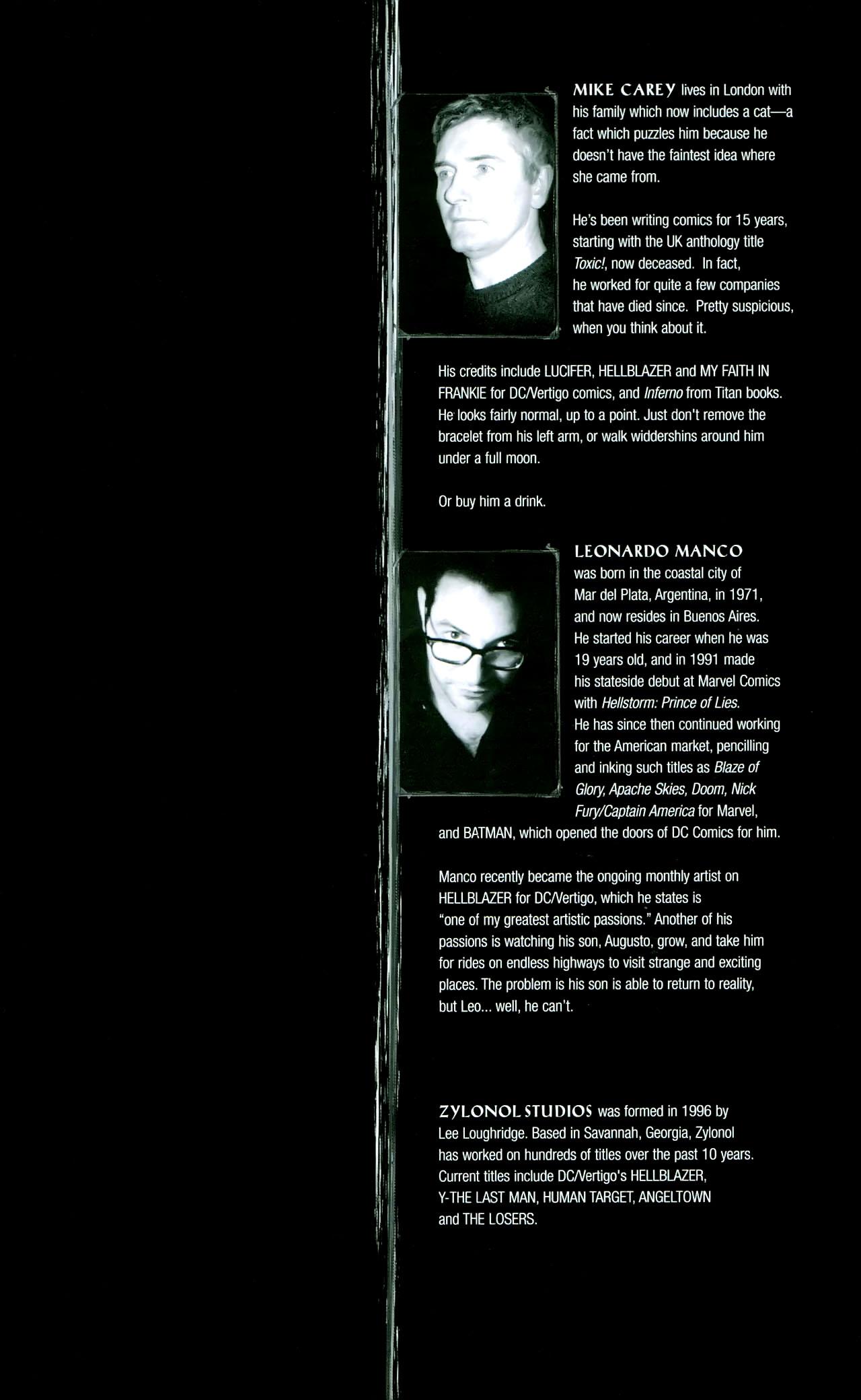 Read online John Constantine Hellblazer: All His Engines comic -  Issue # Full - 128