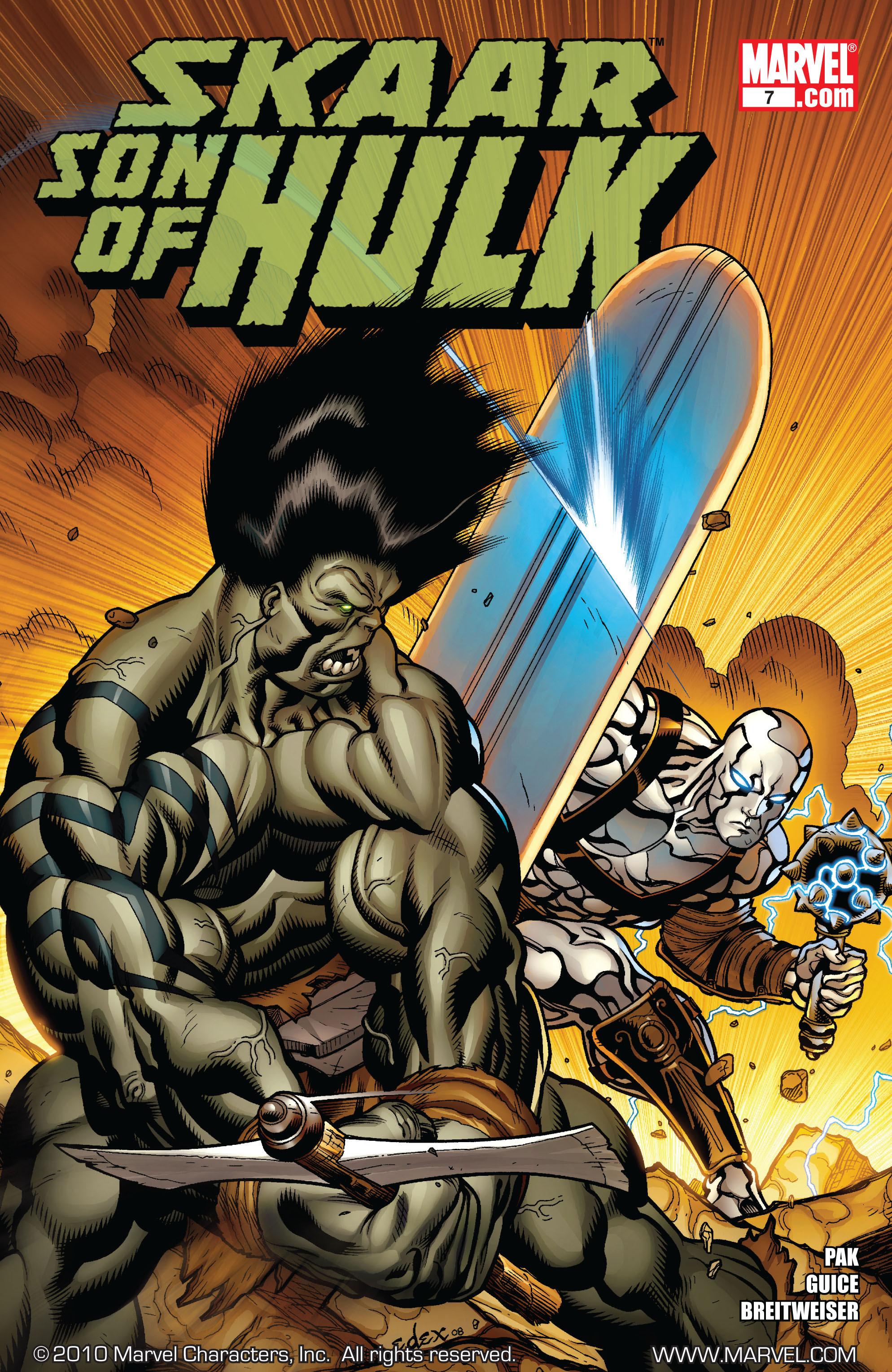 Read online Skaar: Son of Hulk comic -  Issue #7 - 1