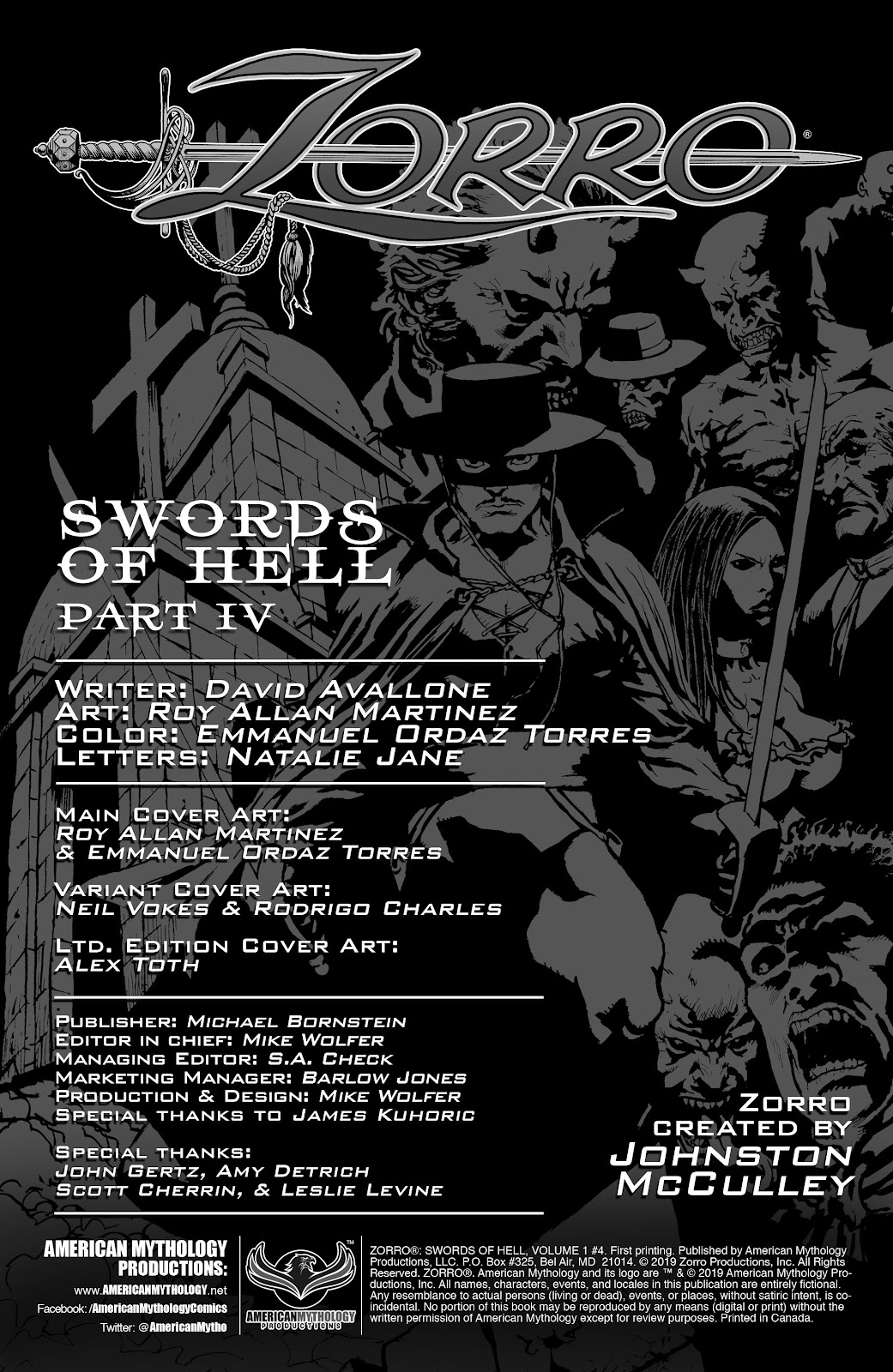 Read online Zorro: Swords of Hell comic -  Issue #4 - 2