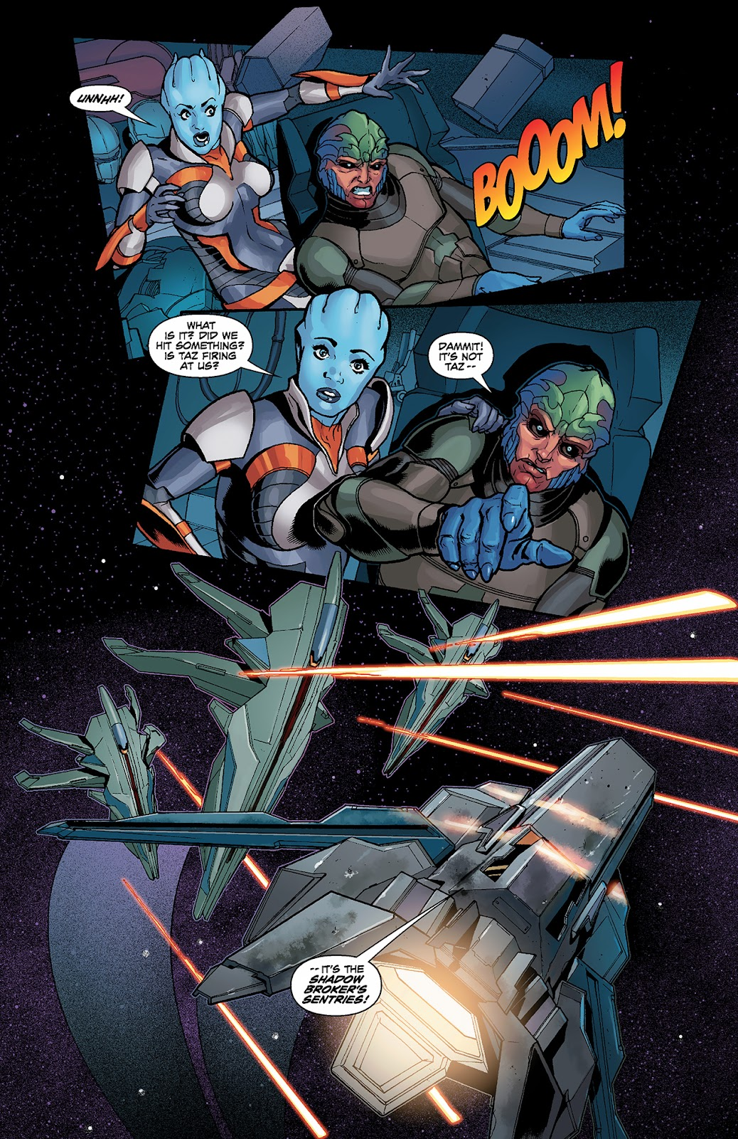 Mass Effect: Redemption Issue #3 #3 - English 8