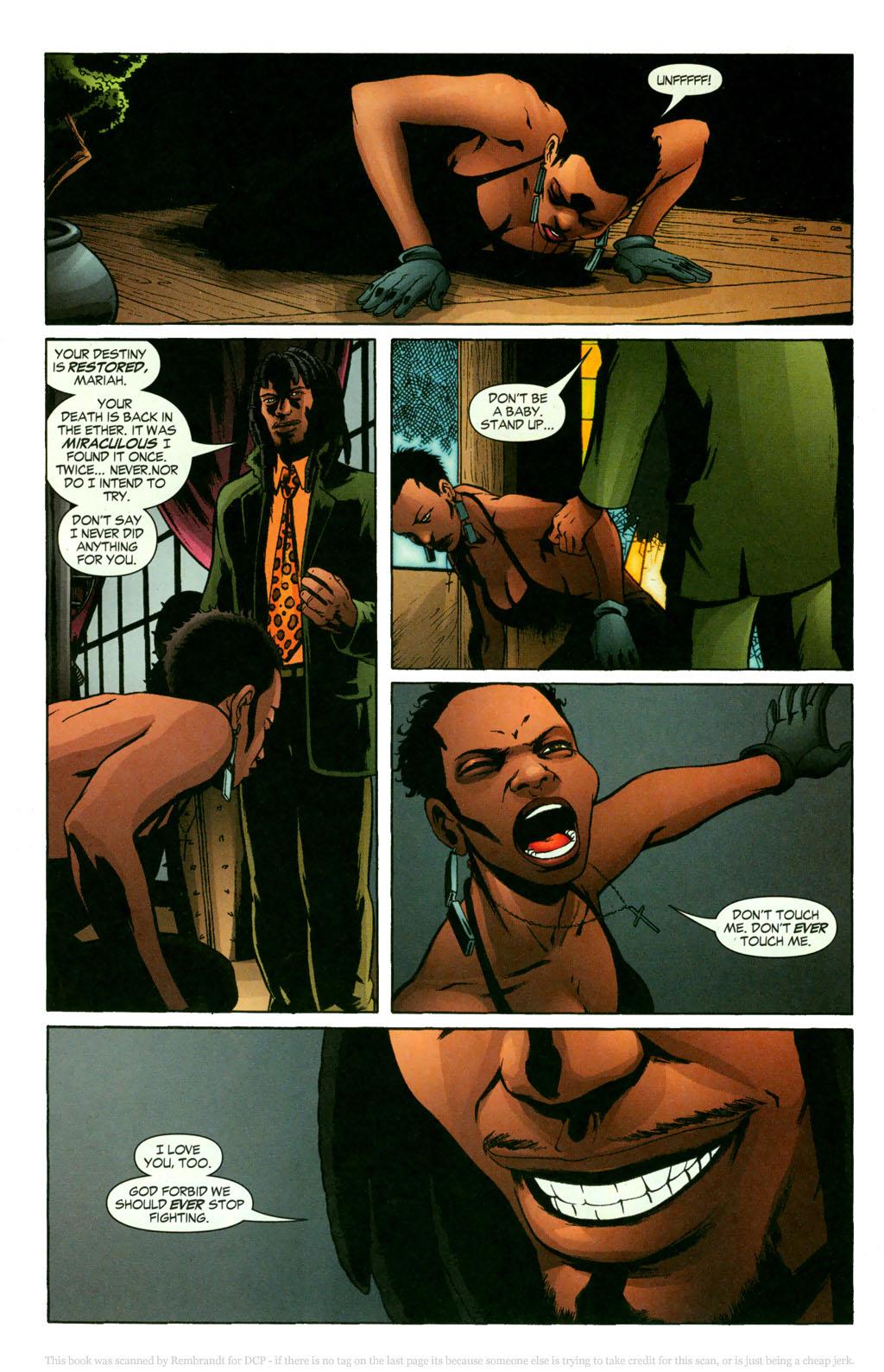 Read online Fallen Angel (2003) comic -  Issue #11 - 18