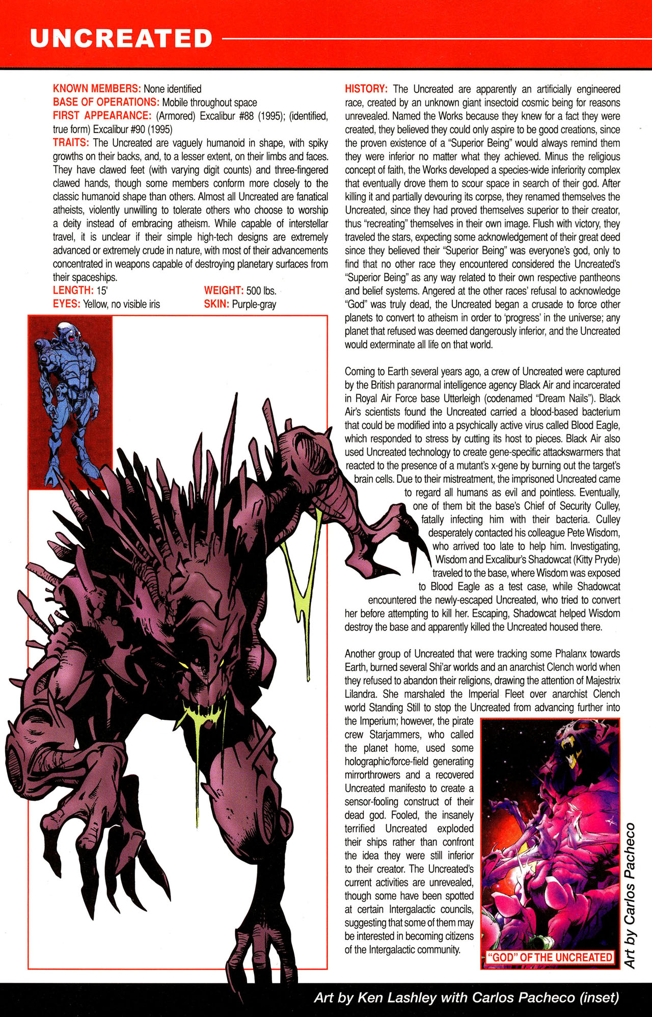 Read online All-New Official Handbook of the Marvel Universe A to Z comic -  Issue #12 - 6