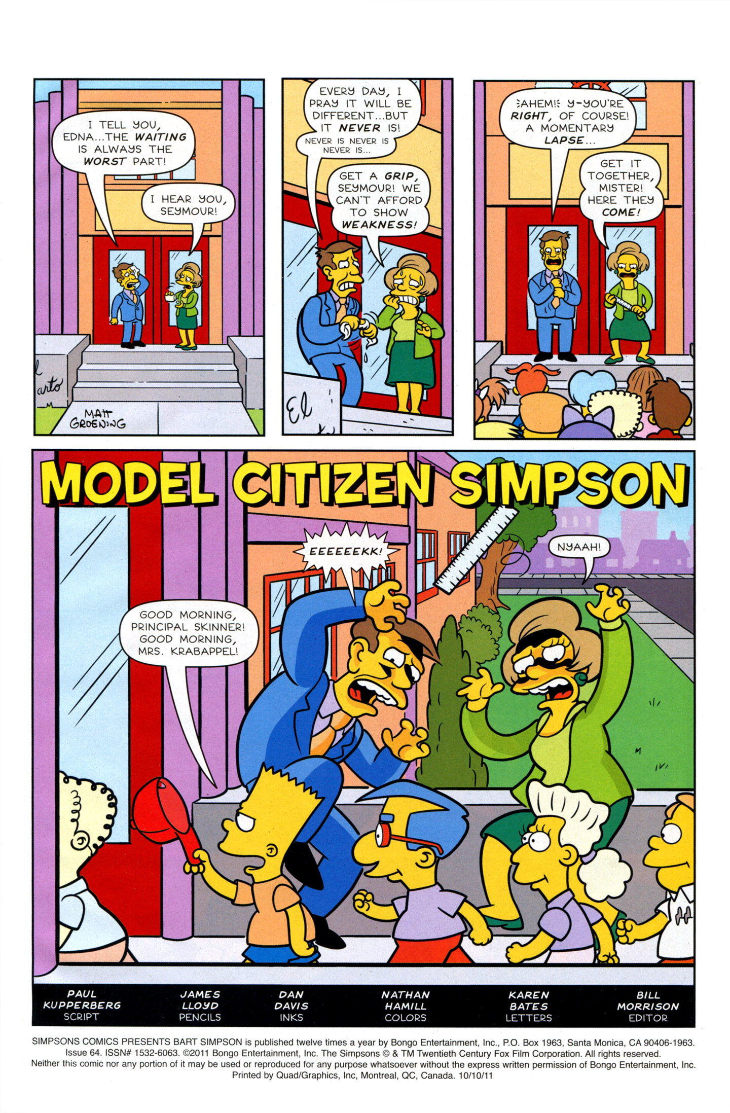 Read online Simpsons Comics Presents Bart Simpson comic -  Issue #64 - 3
