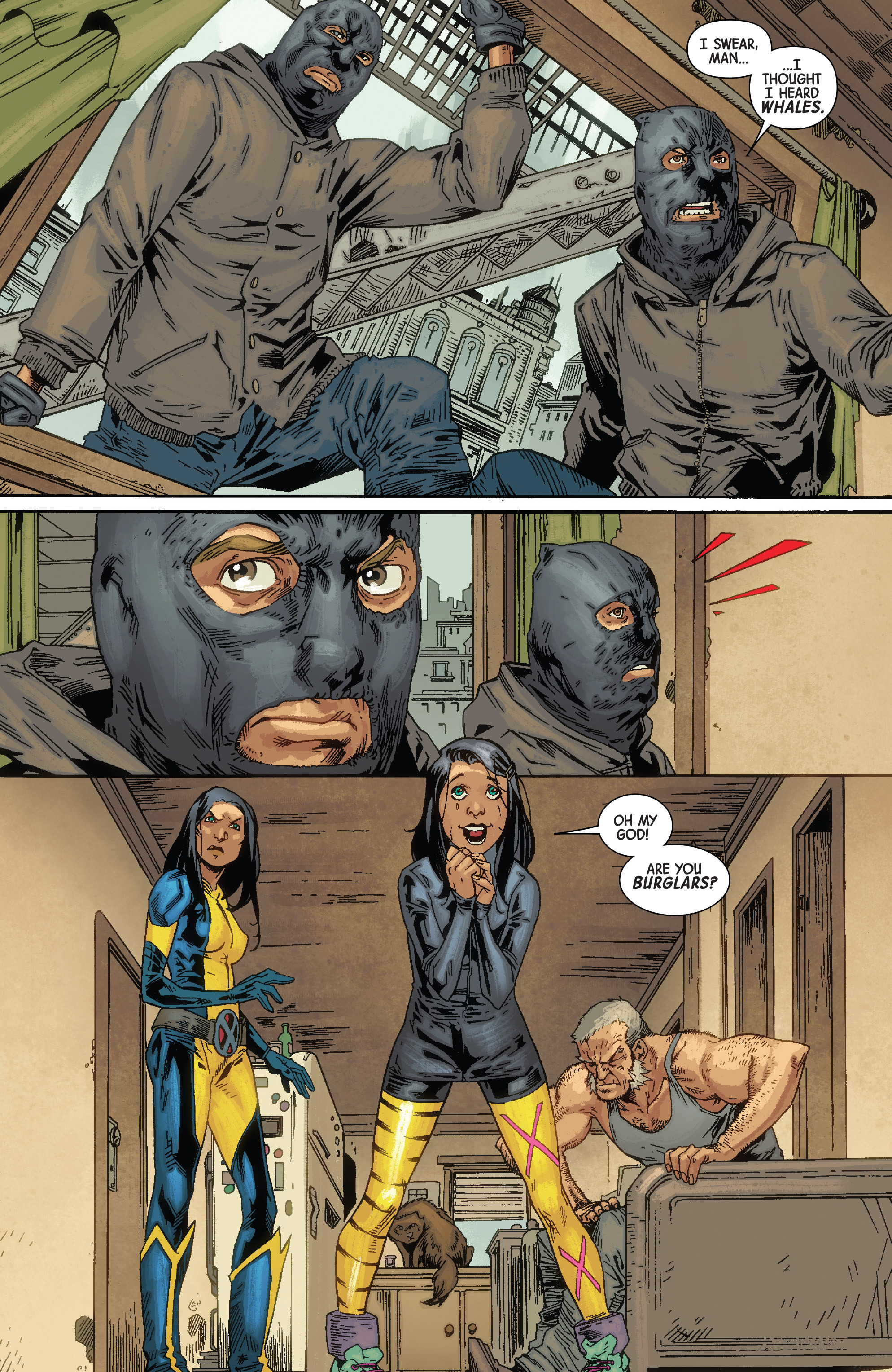 Read online All-New Wolverine (2016) comic -  Issue #10 - 12