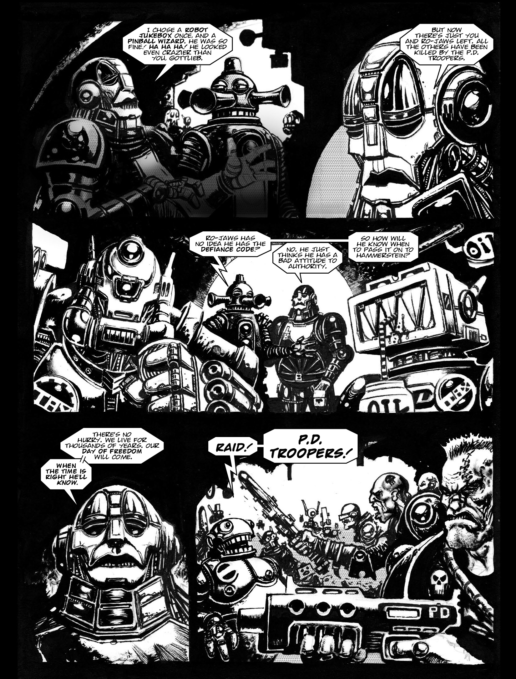Read online 2000 AD comic -  Issue #1968 - 15