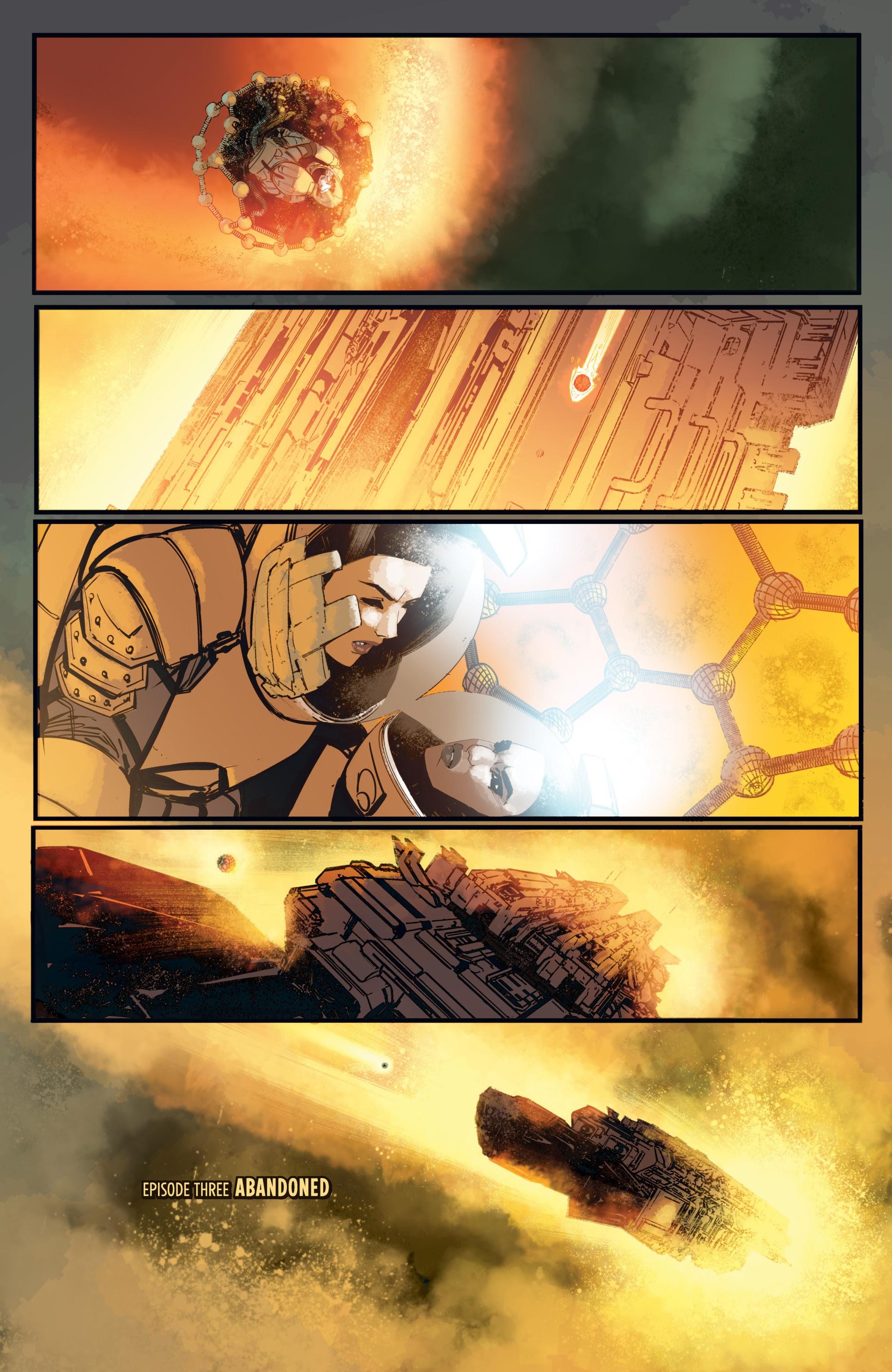 Read online Aliens: Resistance comic -  Issue # _TPB - 55