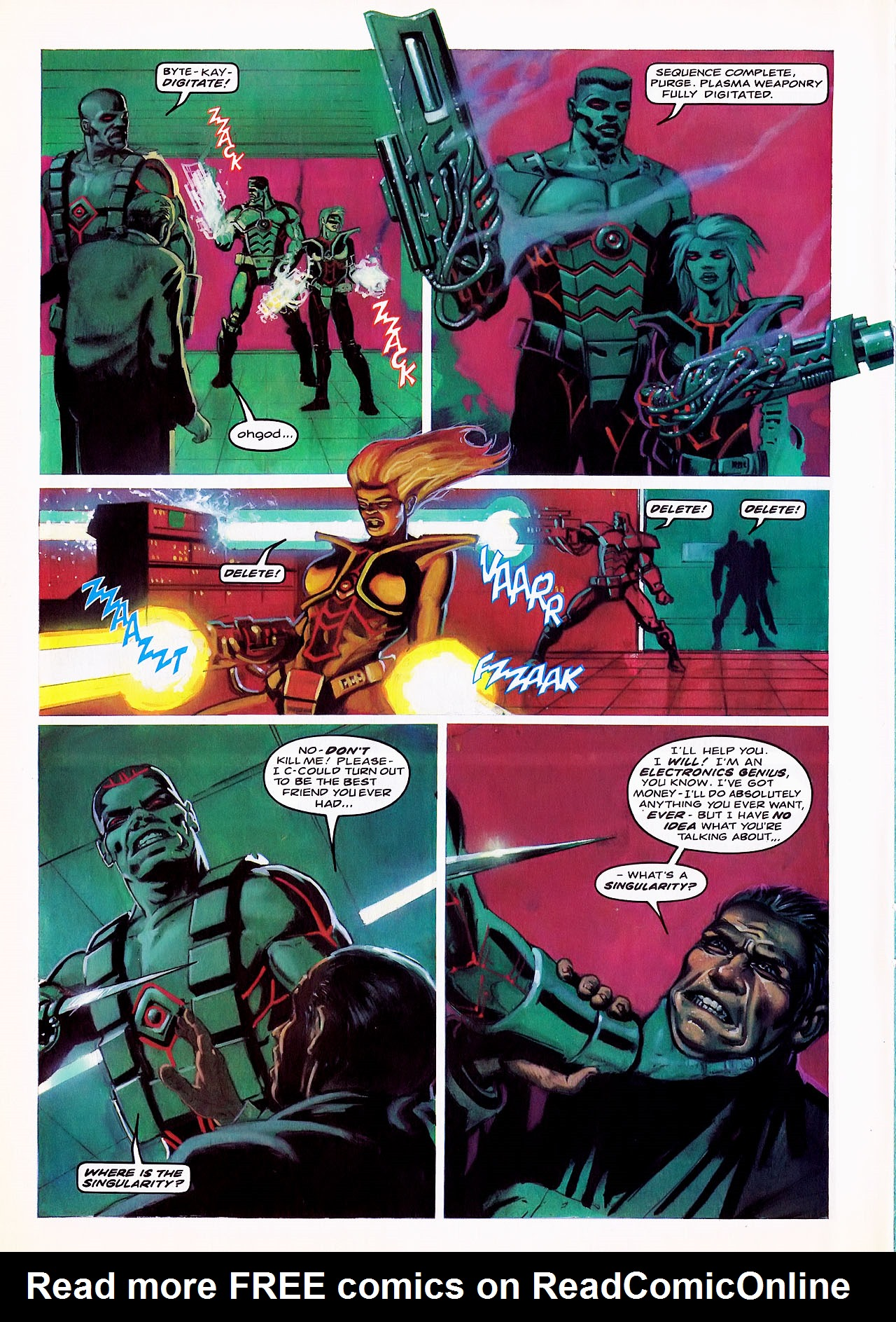 Read online Overkill comic -  Issue #6 - 10