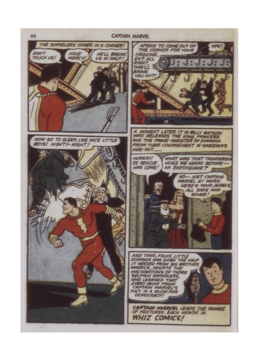 Captain Marvel Adventures issue 9 - Page 66