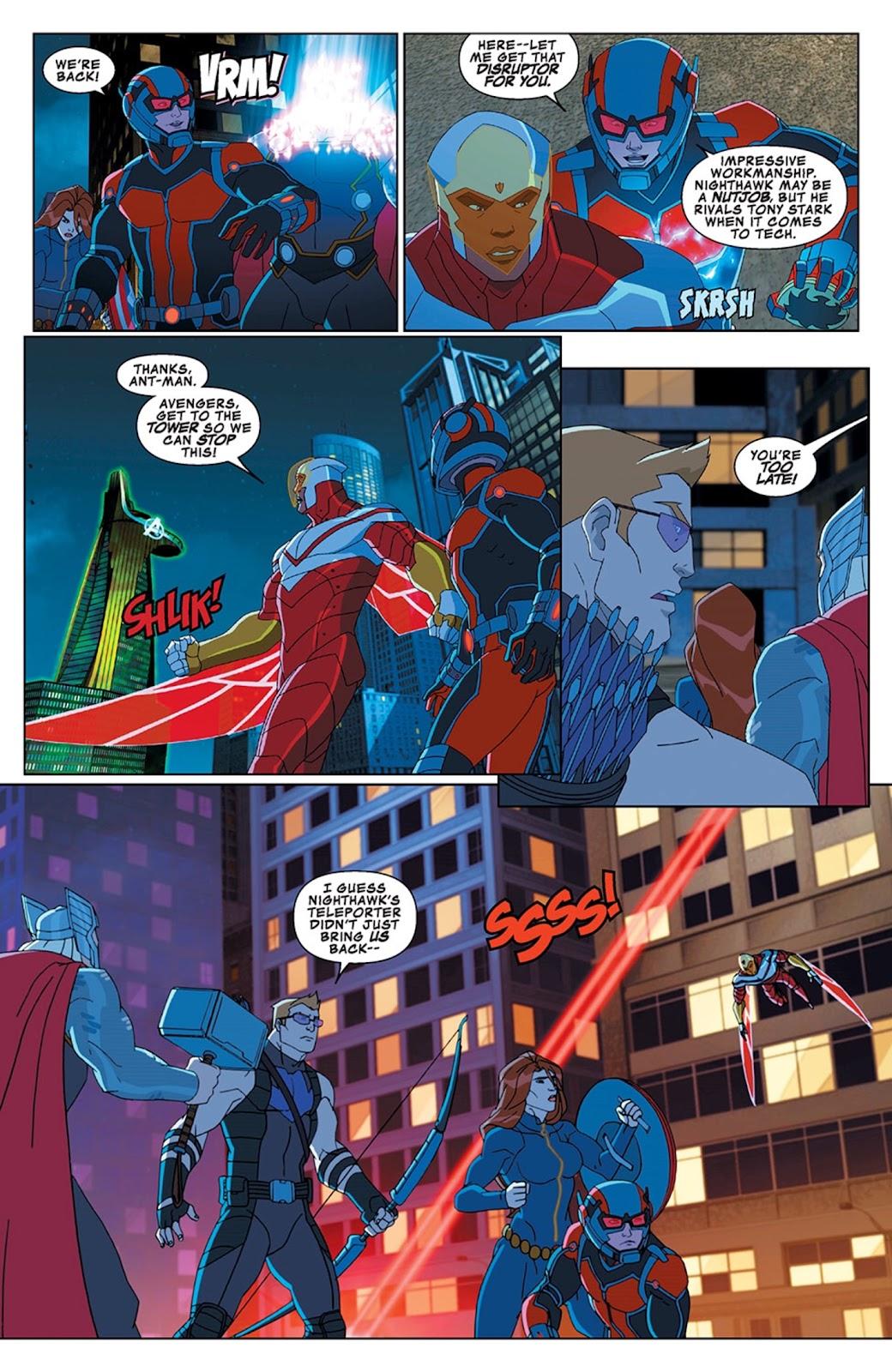 Read online Marvel Universe Avengers Assemble Season 2 comic -  Issue #13 - 18