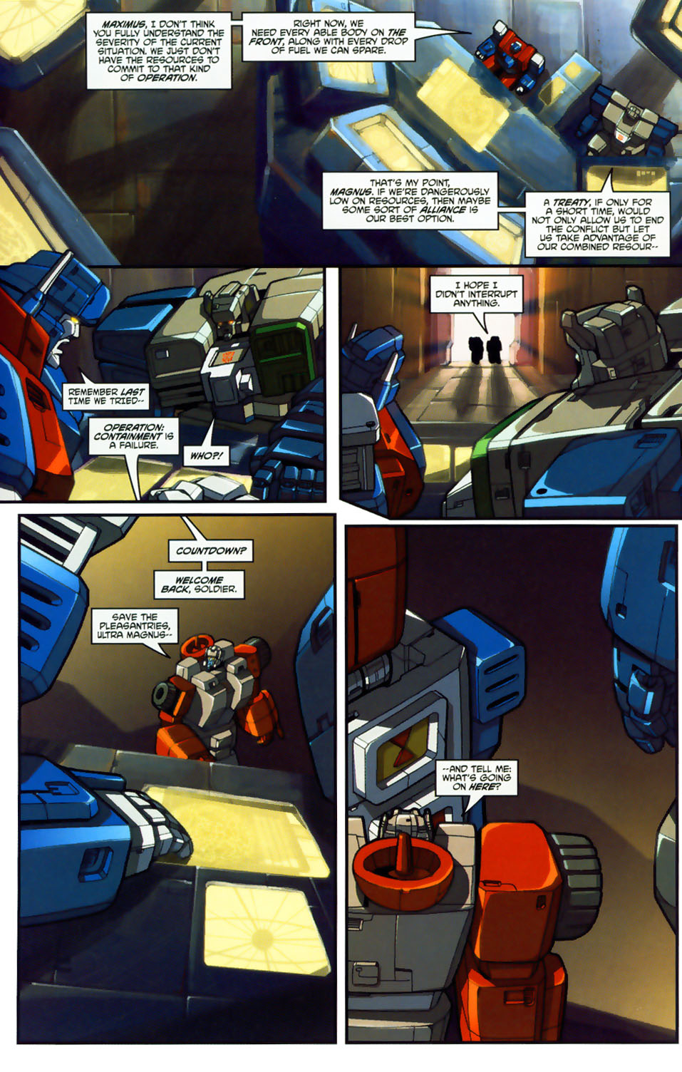 Read online Transformers: Micromasters comic -  Issue #1 - 10