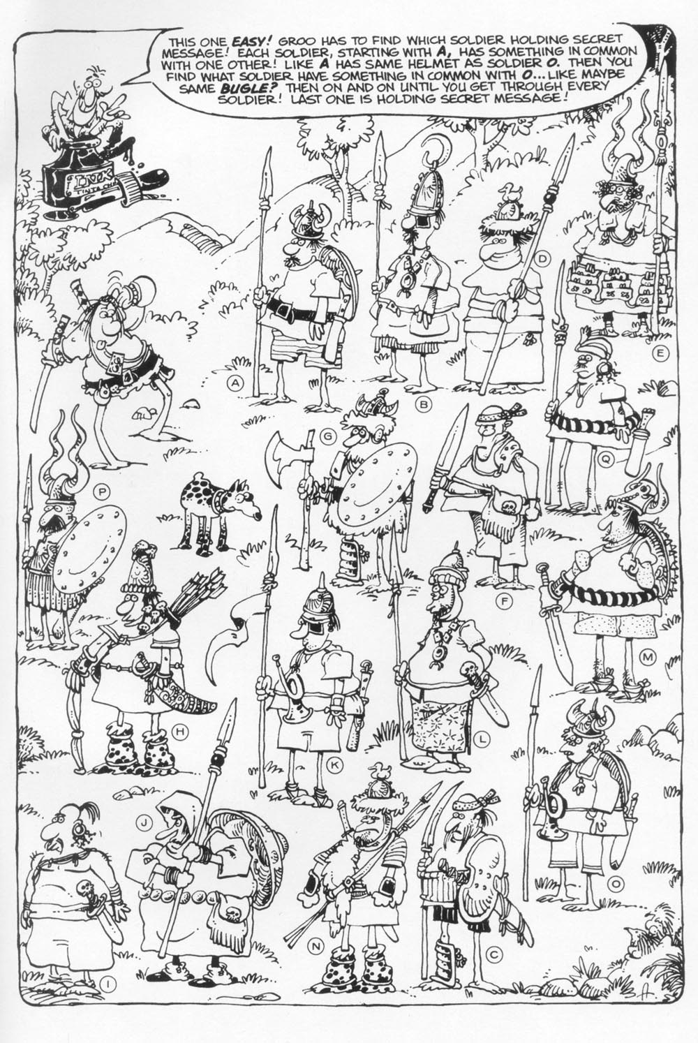 Read online Sergio Aragonés Groo the Wanderer comic -  Issue #118 - 33