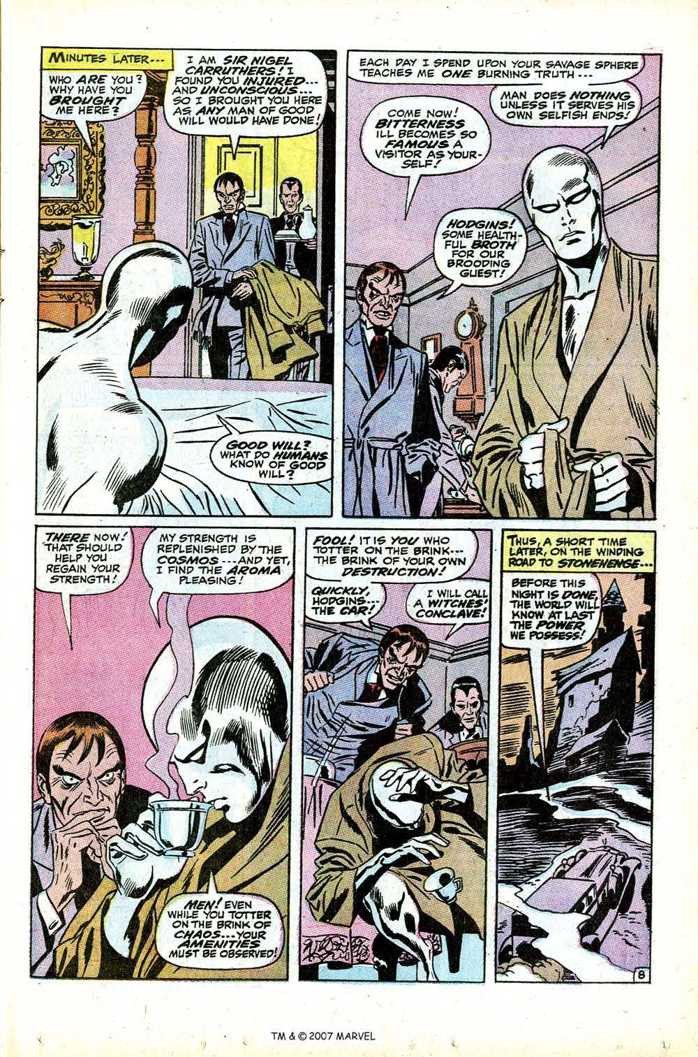 Read online Silver Surfer (1968) comic -  Issue #12 - 13