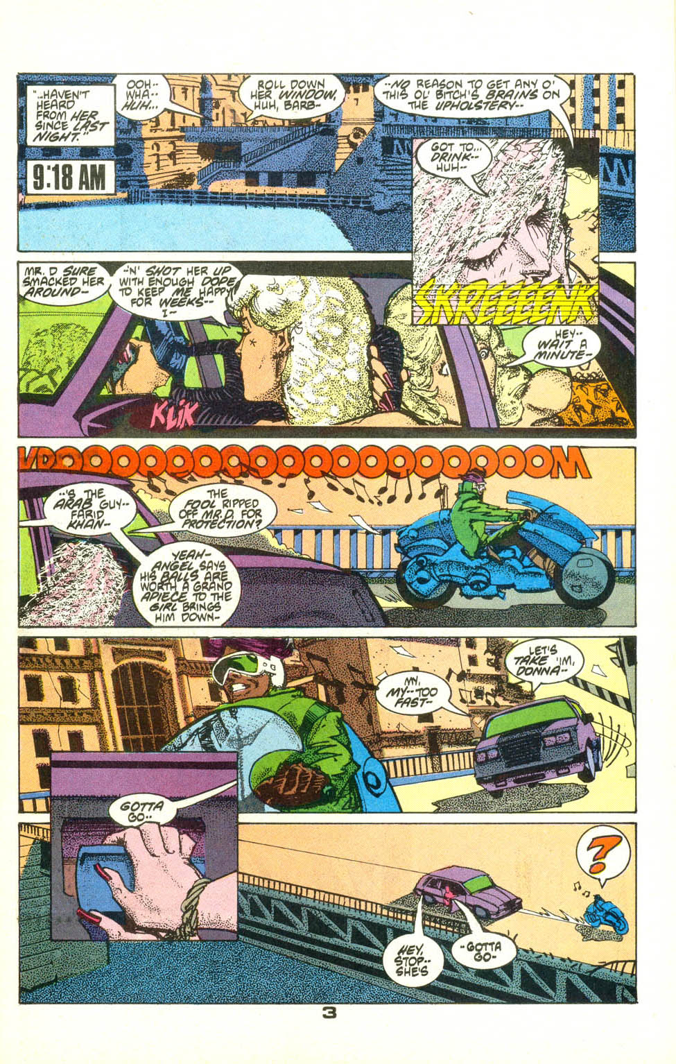 Read online American Flagg! comic -  Issue #22 - 4
