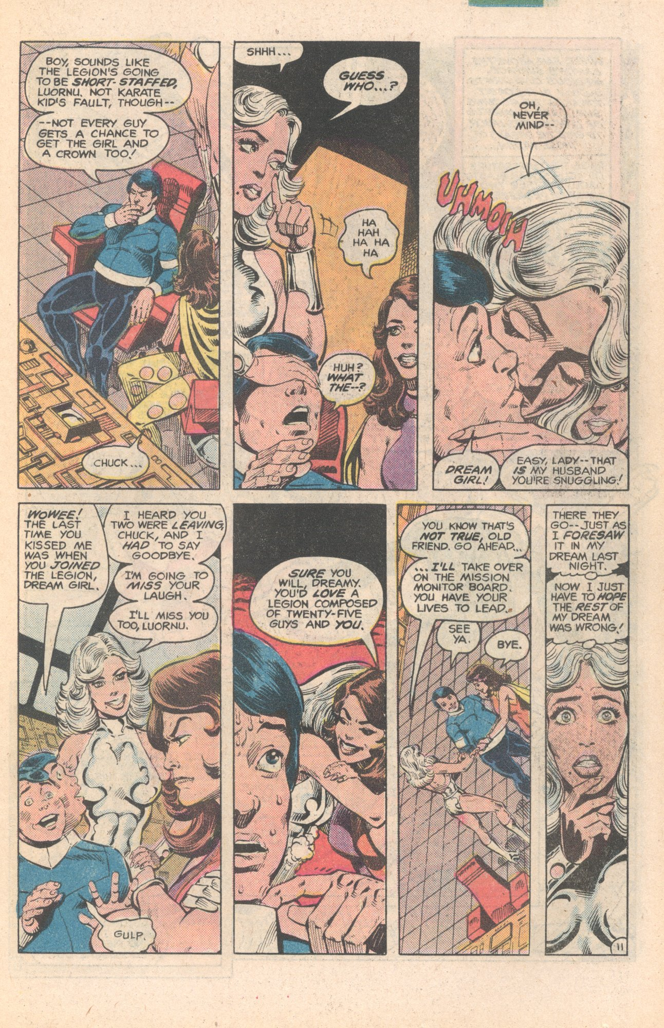Legion of Super-Heroes (1980) 284 Page 11