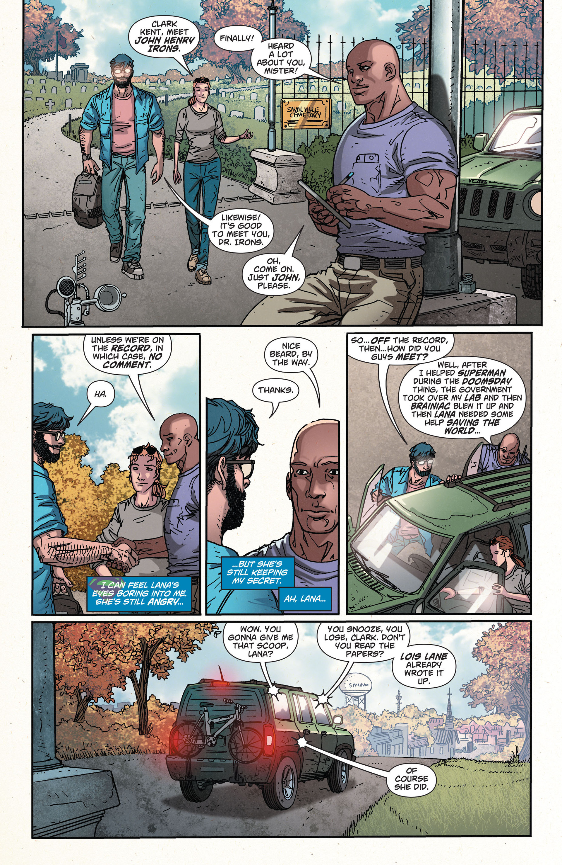 Read online Action Comics (2011) comic -  Issue #35 - 13