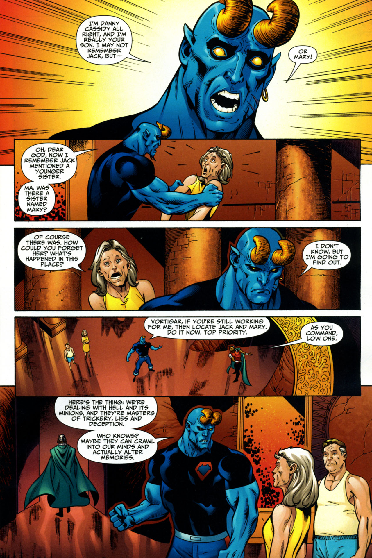 Read online Shadowpact comic -  Issue #15 - 9