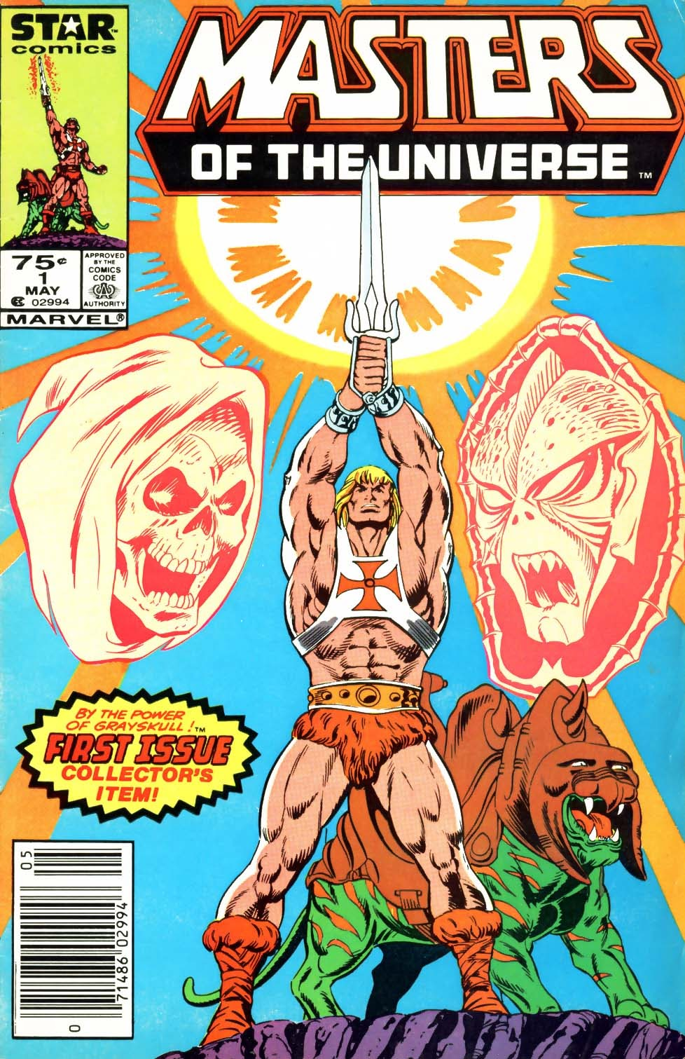 Masters of the Universe (1986) issue 1 - Page 1