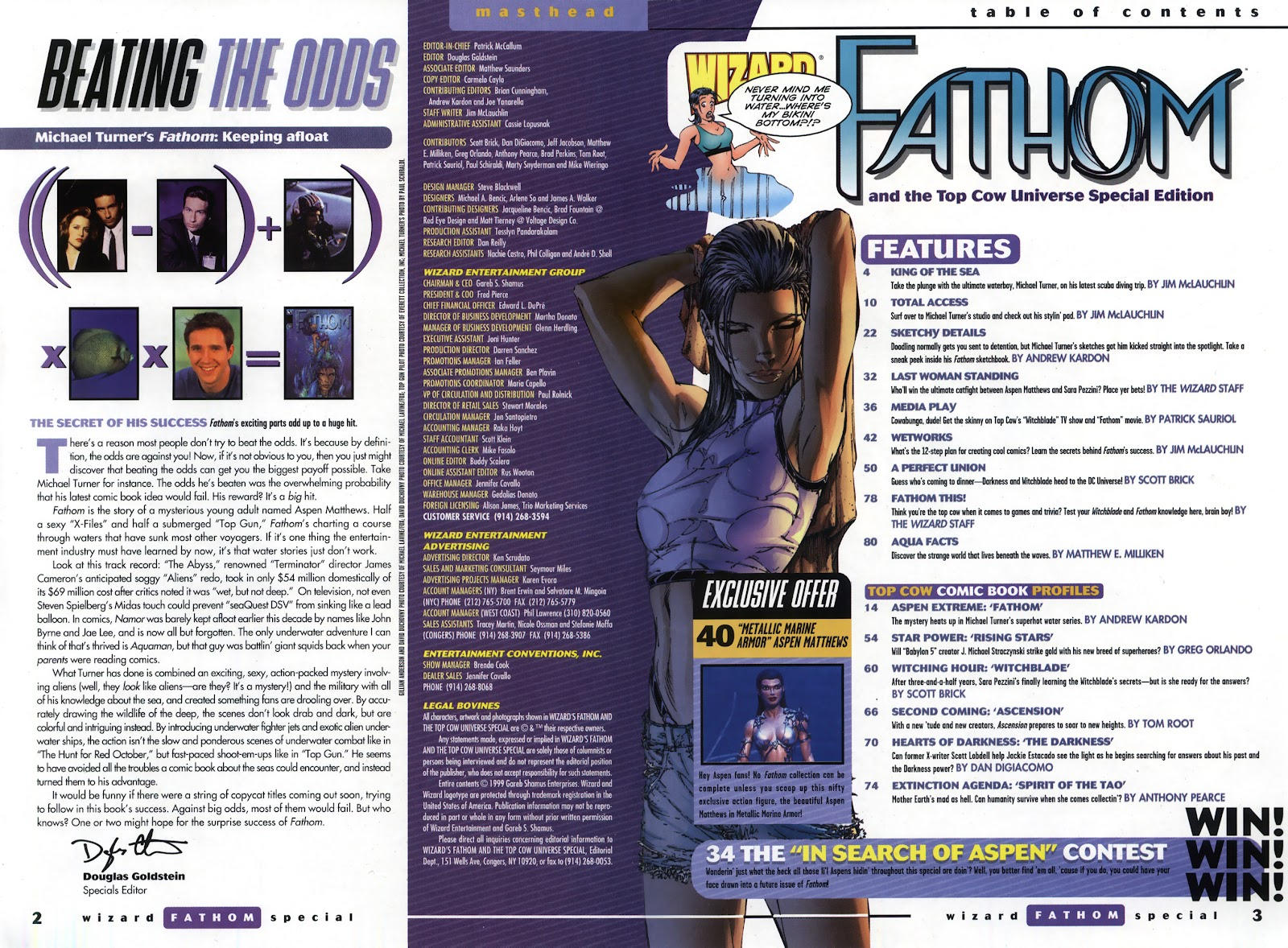 Read online Fathom Special comic -  Issue # Full - 4