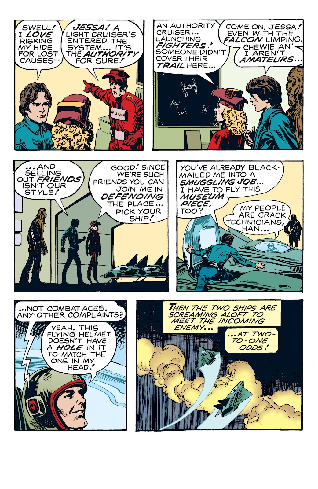 Read online Star Wars Legends: The Newspaper Strips - Epic Collection comic -  Issue # TPB (Part 4) - 13