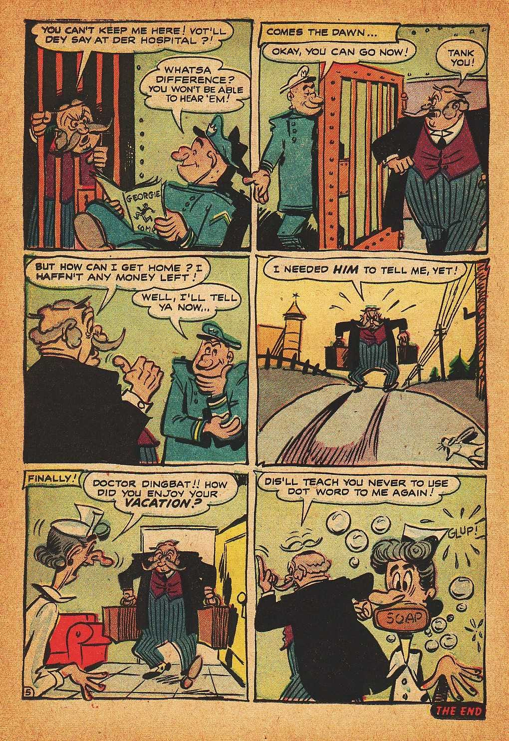 Read online Nellie The Nurse (1945) comic -  Issue #32 - 14