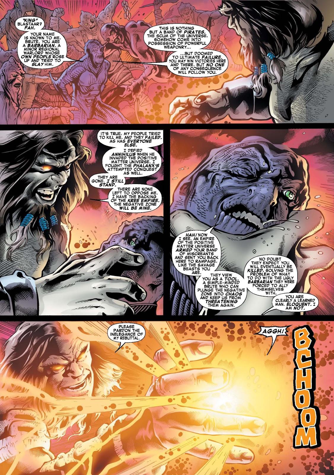 War of Kings: Warriors - Blastaar Issue #1 #1 - English 4