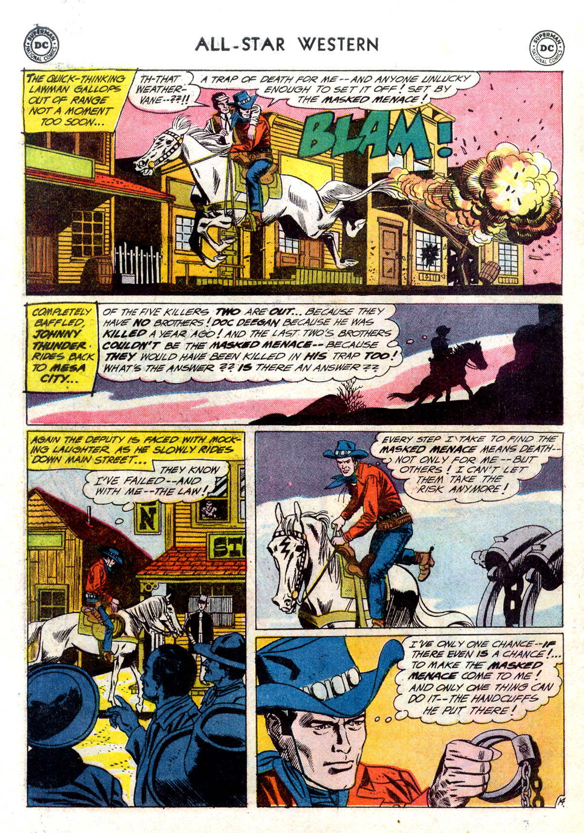 Read online All-Star Western (1951) comic -  Issue #116 - 18