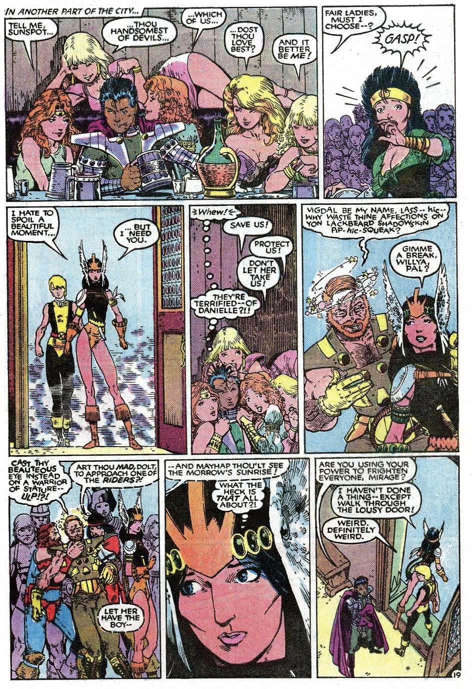 Read online Uncanny X-Men (1963) comic -  Issue # _Annual 9 - 21