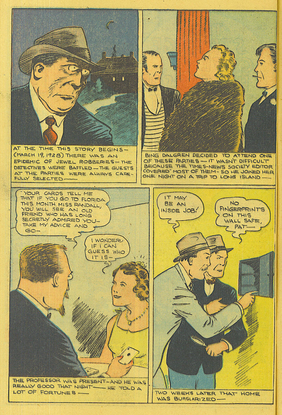 Read online Shadow Comics comic -  Issue #71 - 10