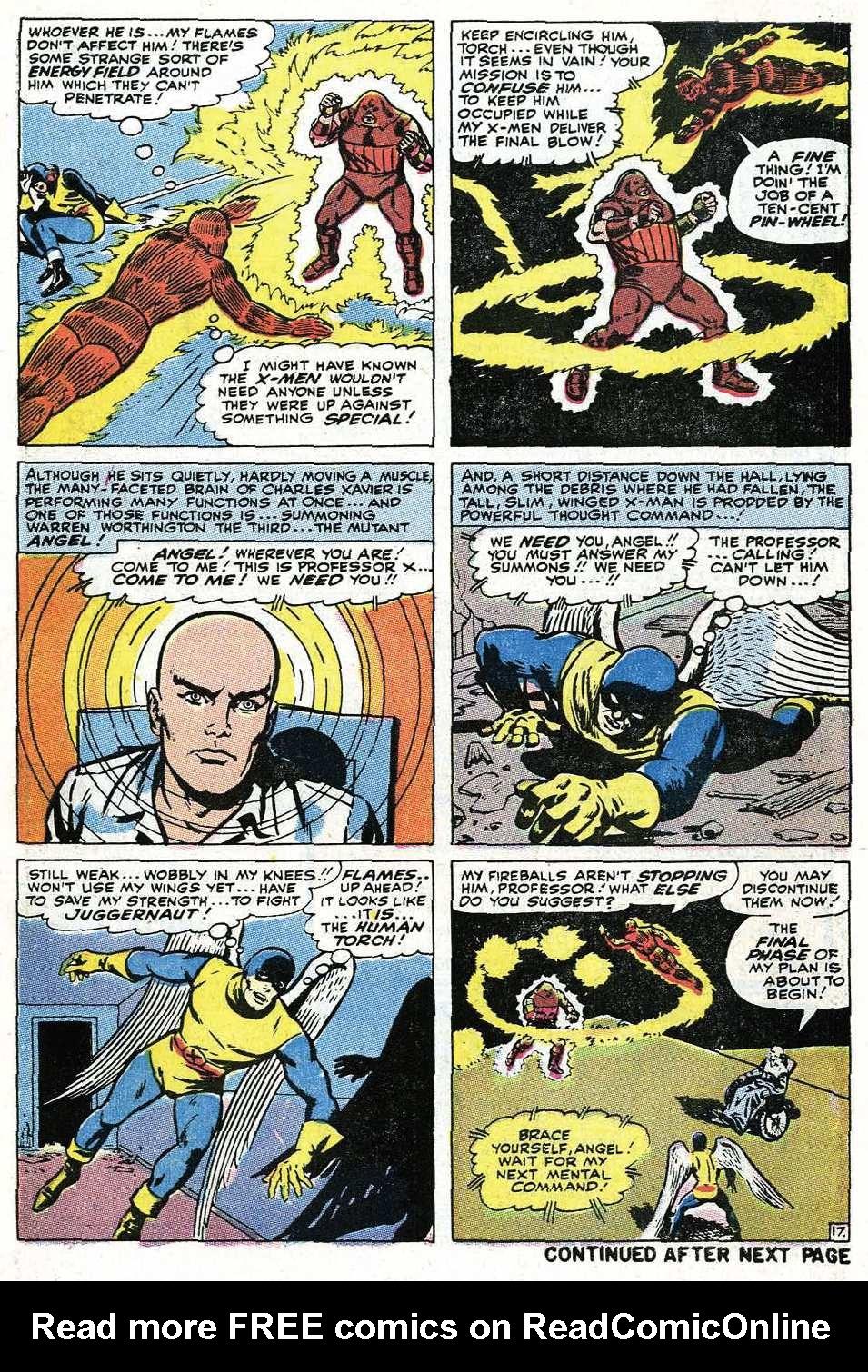 Read online Uncanny X-Men (1963) comic -  Issue #67 - 45