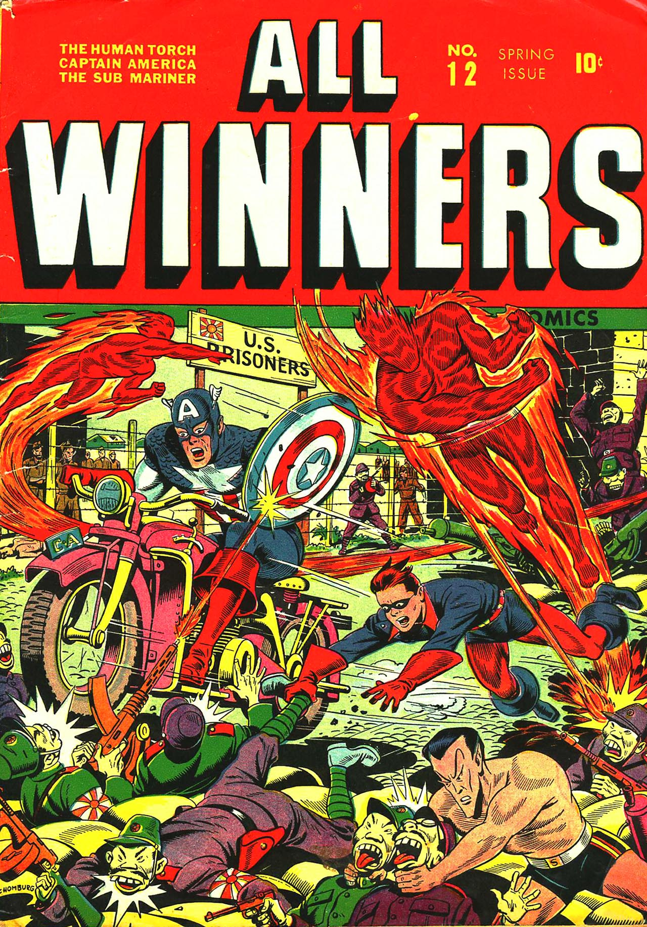 Read online All-Winners Comics comic -  Issue #12 - 1