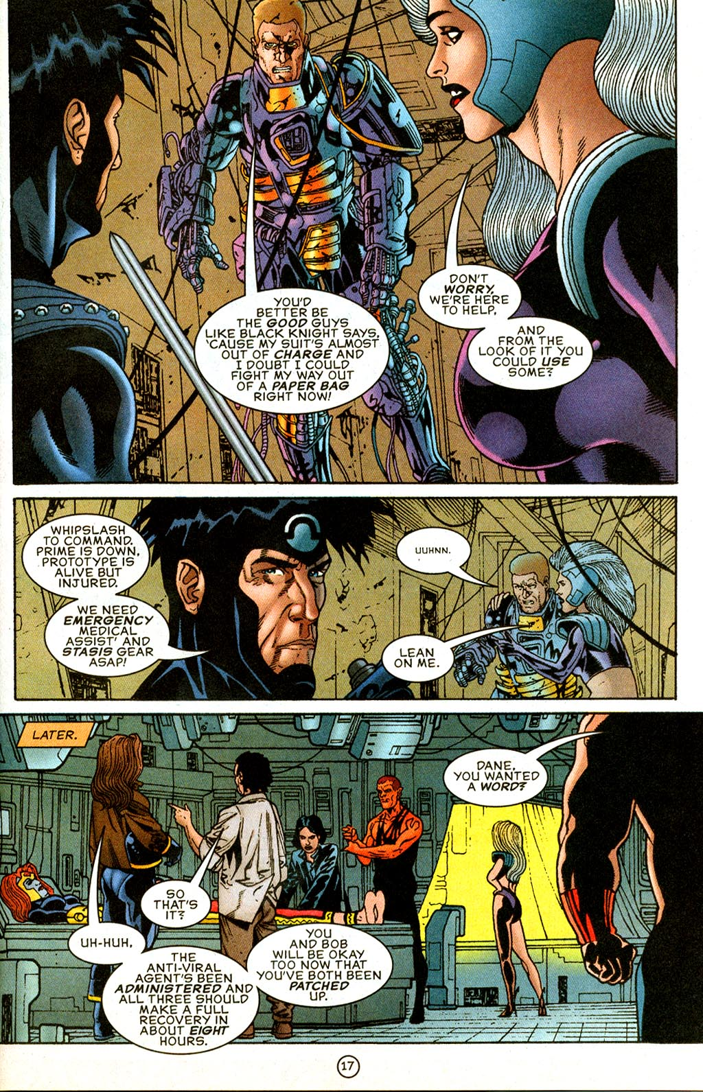 Read online UltraForce (1995) comic -  Issue #9 - 17