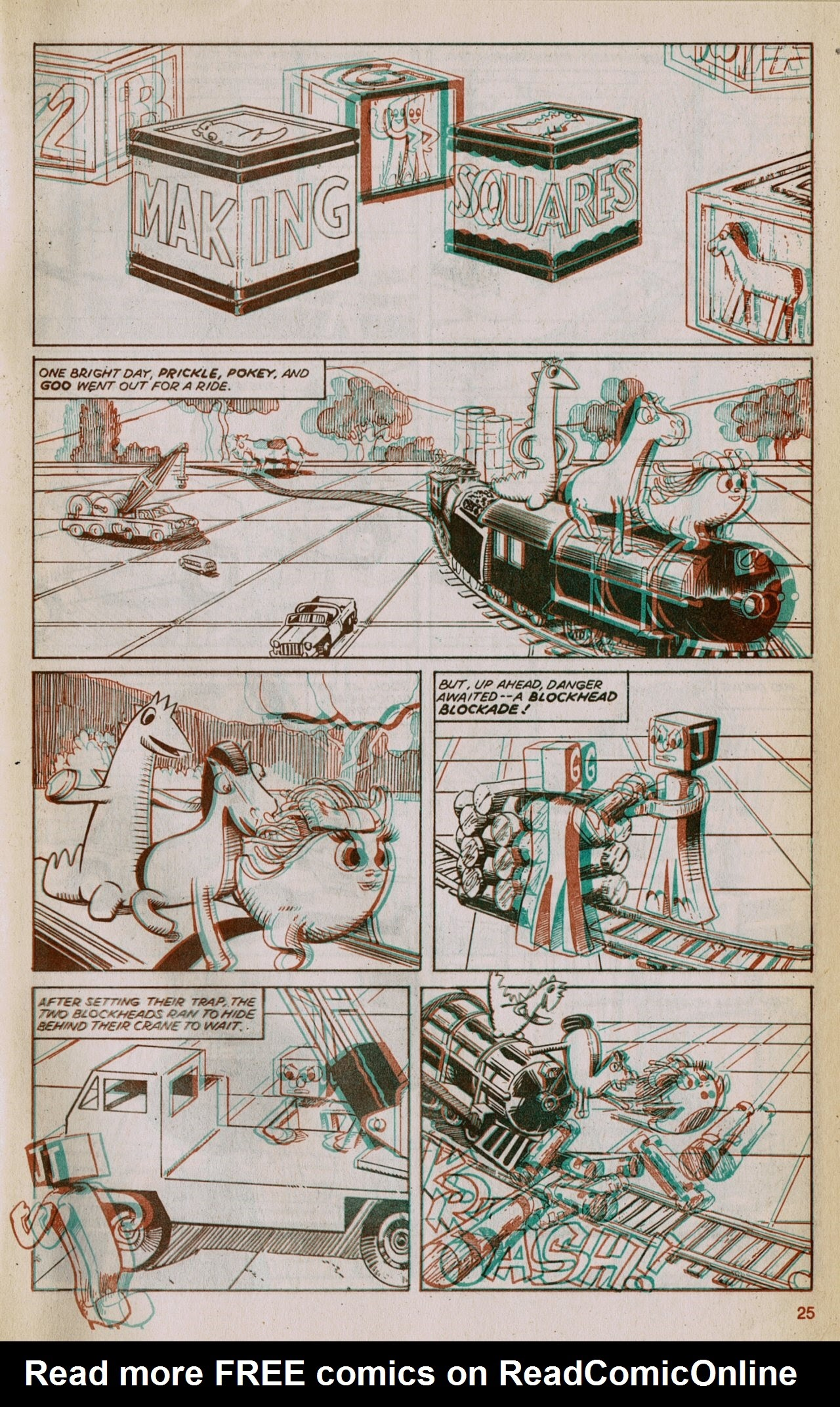 Gumby 3-D issue 1 - Page 27