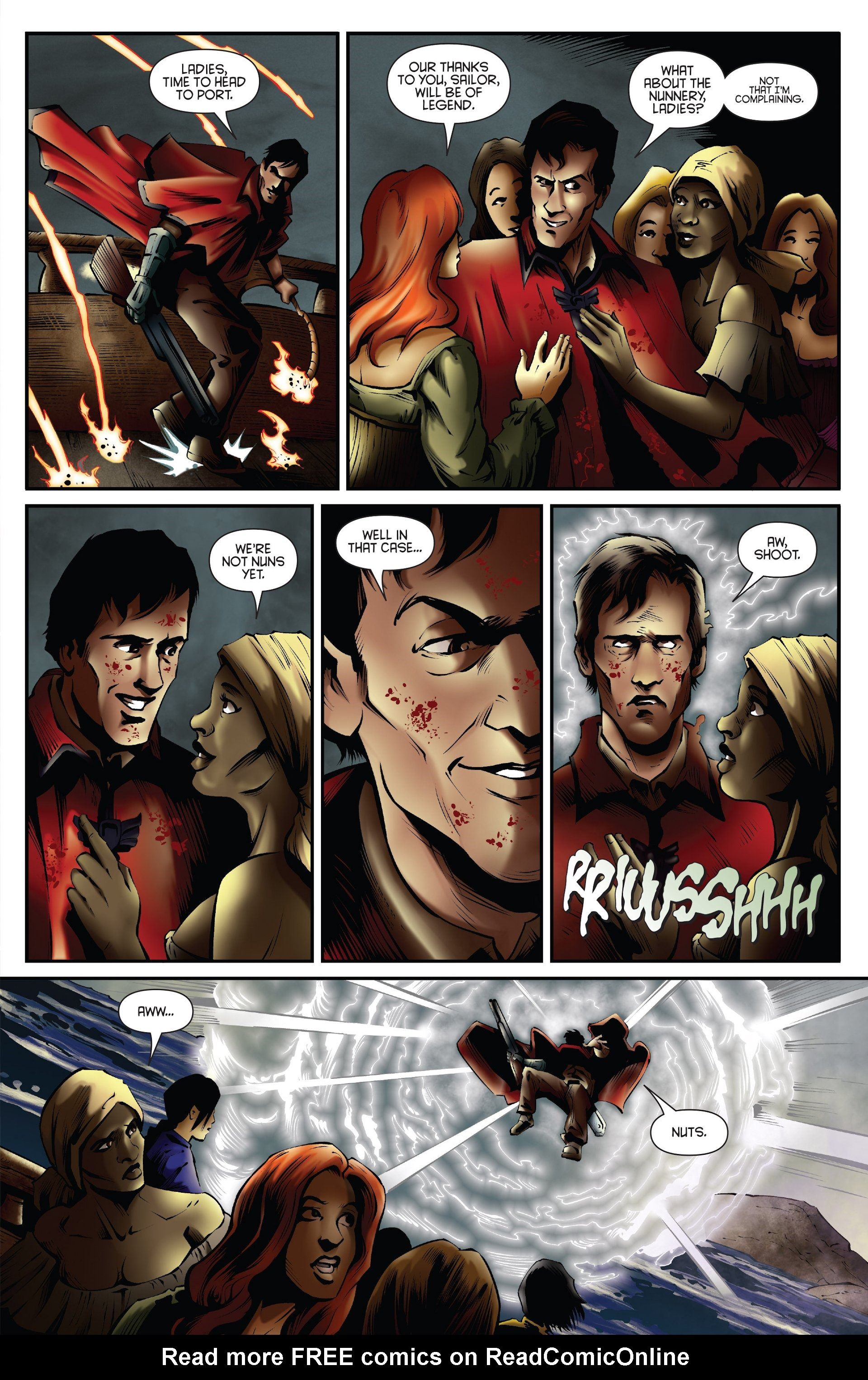 Read online Ash and the Army of Darkness comic -  Issue #Ash and the Army of Darkness _Annual 1 - 23