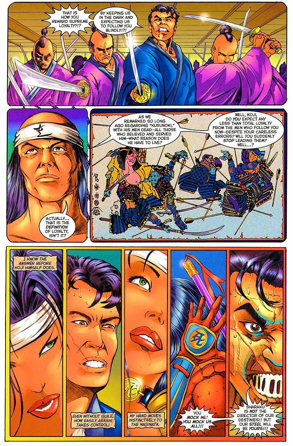 Read online Shi: The Way of the Warrior comic -  Issue #12 - 12