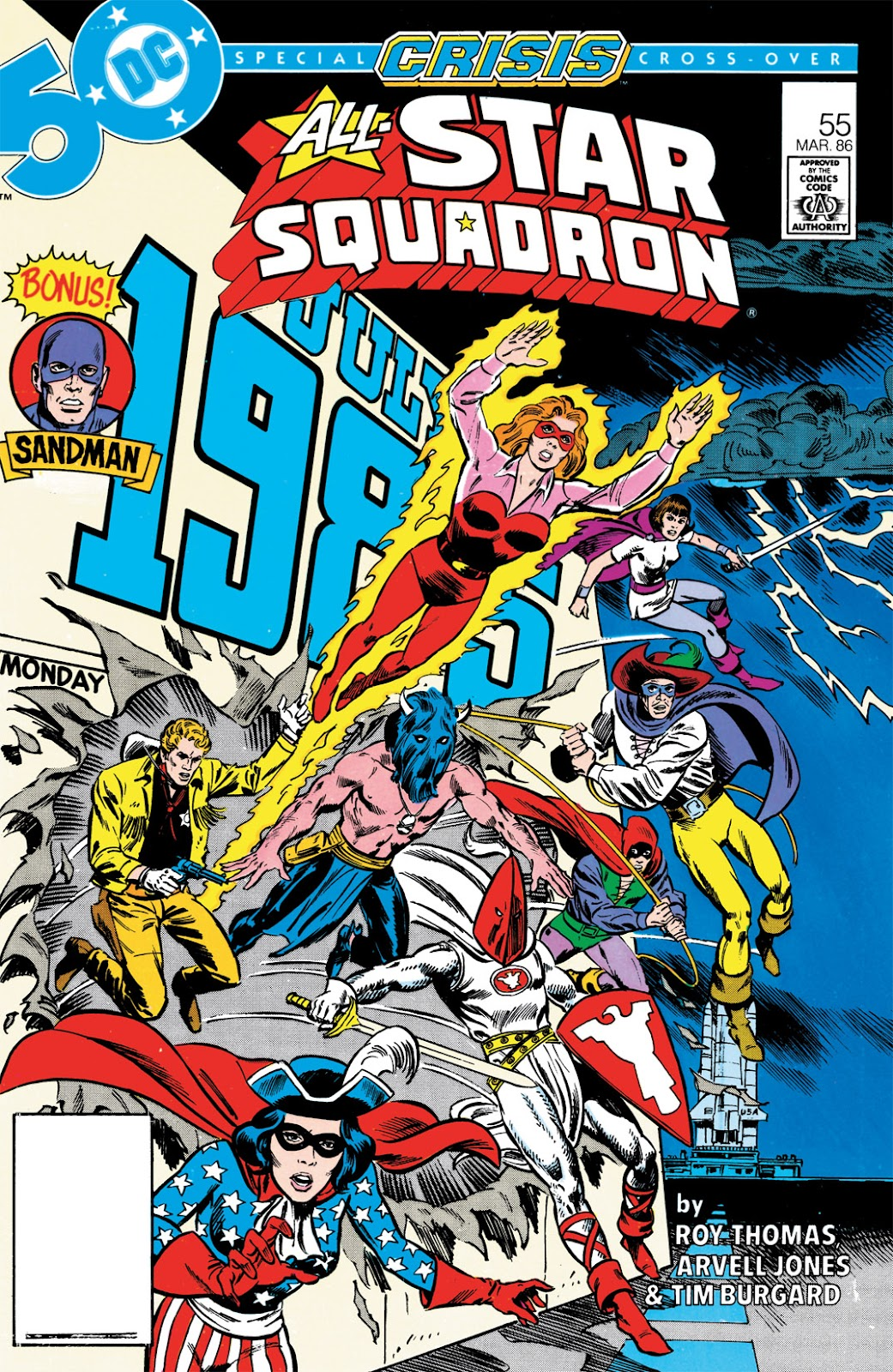 All-Star Squadron 55 Page 1