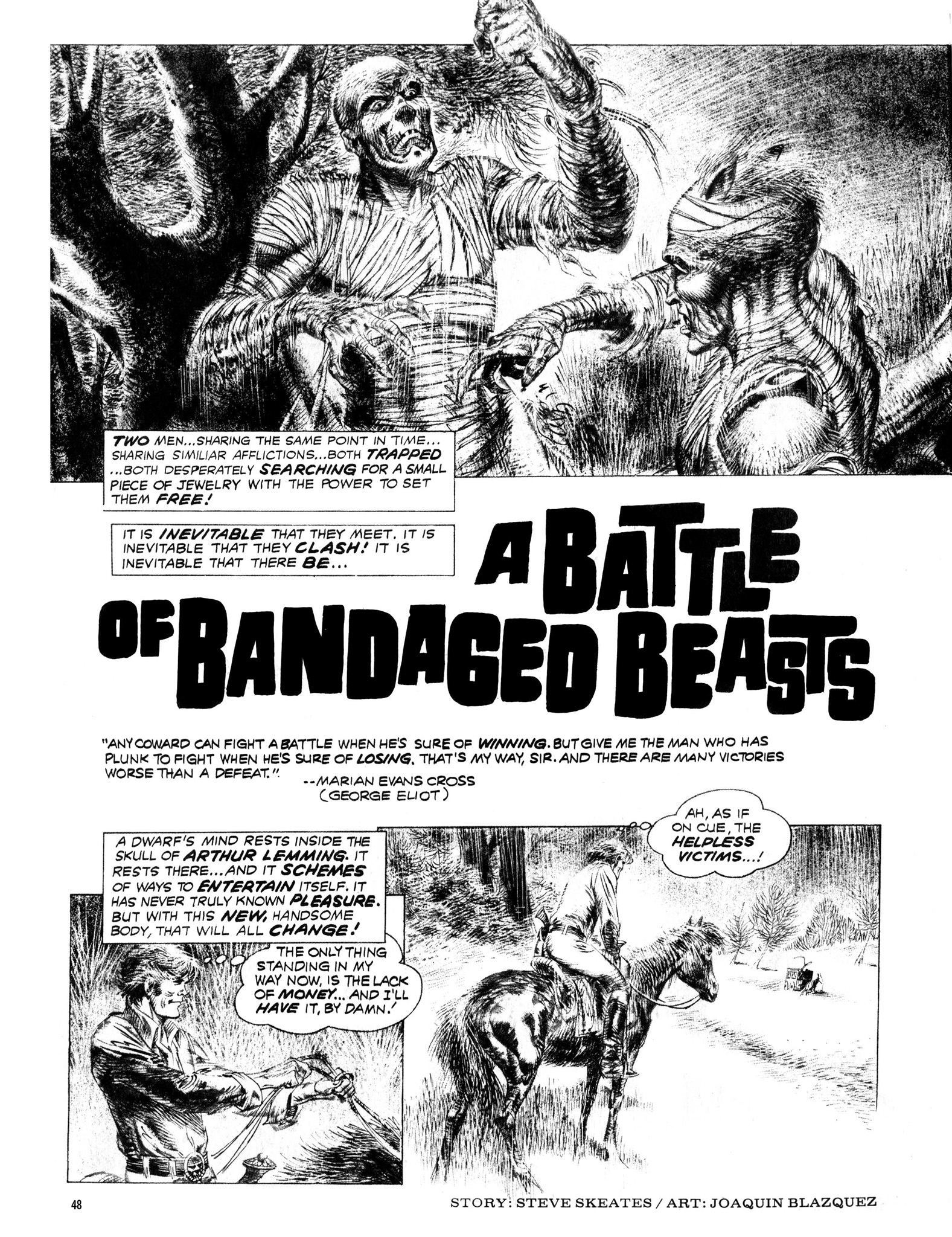 Read online Eerie Archives comic -  Issue # TPB 13 - 49