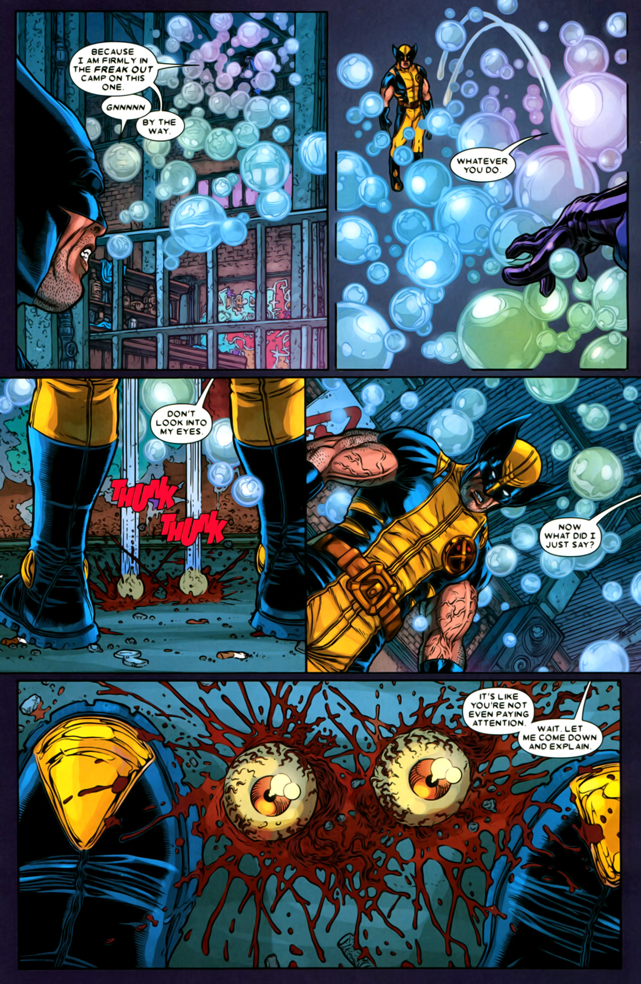 Read online Wolverine: The Best There Is comic -  Issue #2 - 11
