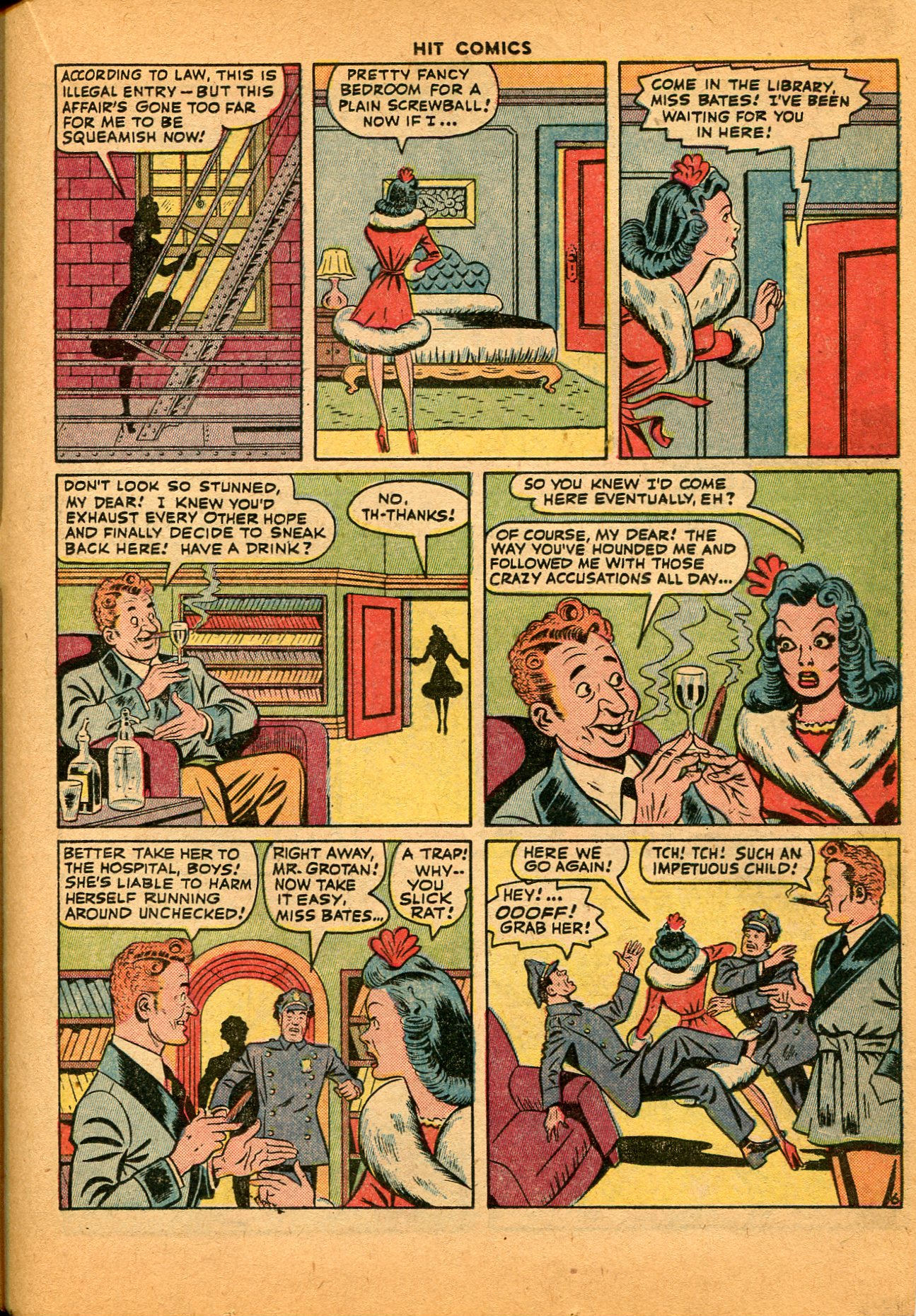 Read online Hit Comics comic -  Issue #35 - 35