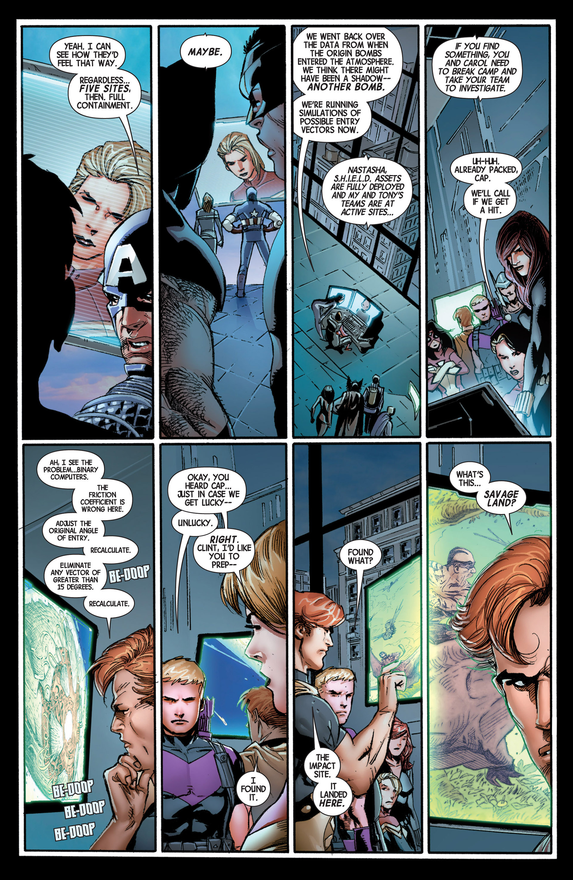 Read online Avengers (2013) comic -  Issue #4 - 5