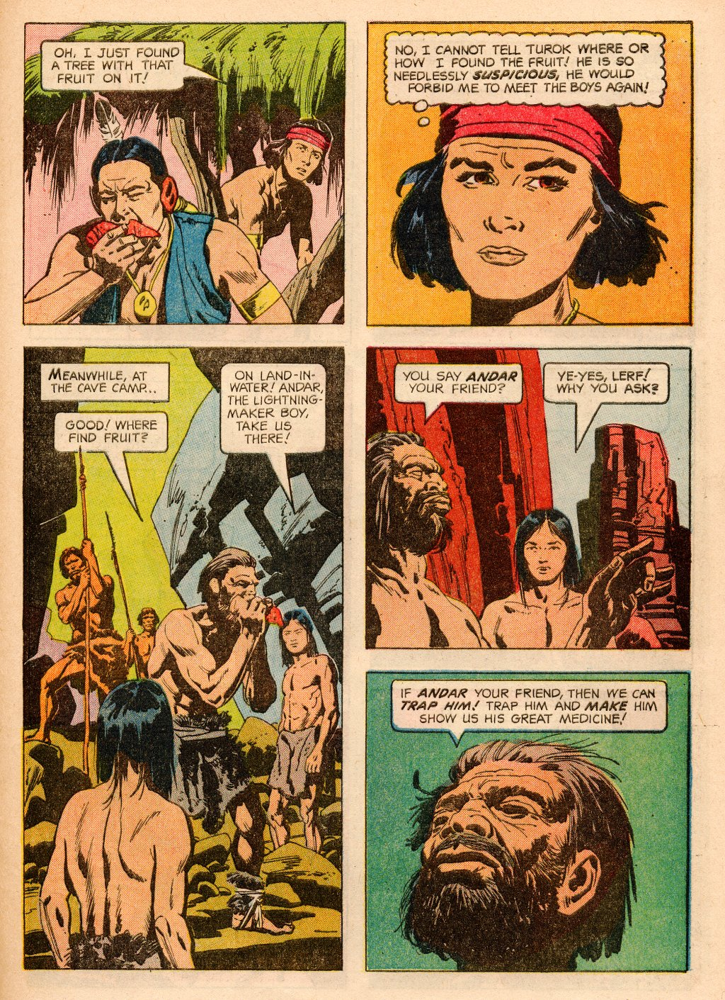 Read online Turok, Son of Stone comic -  Issue #33 - 29