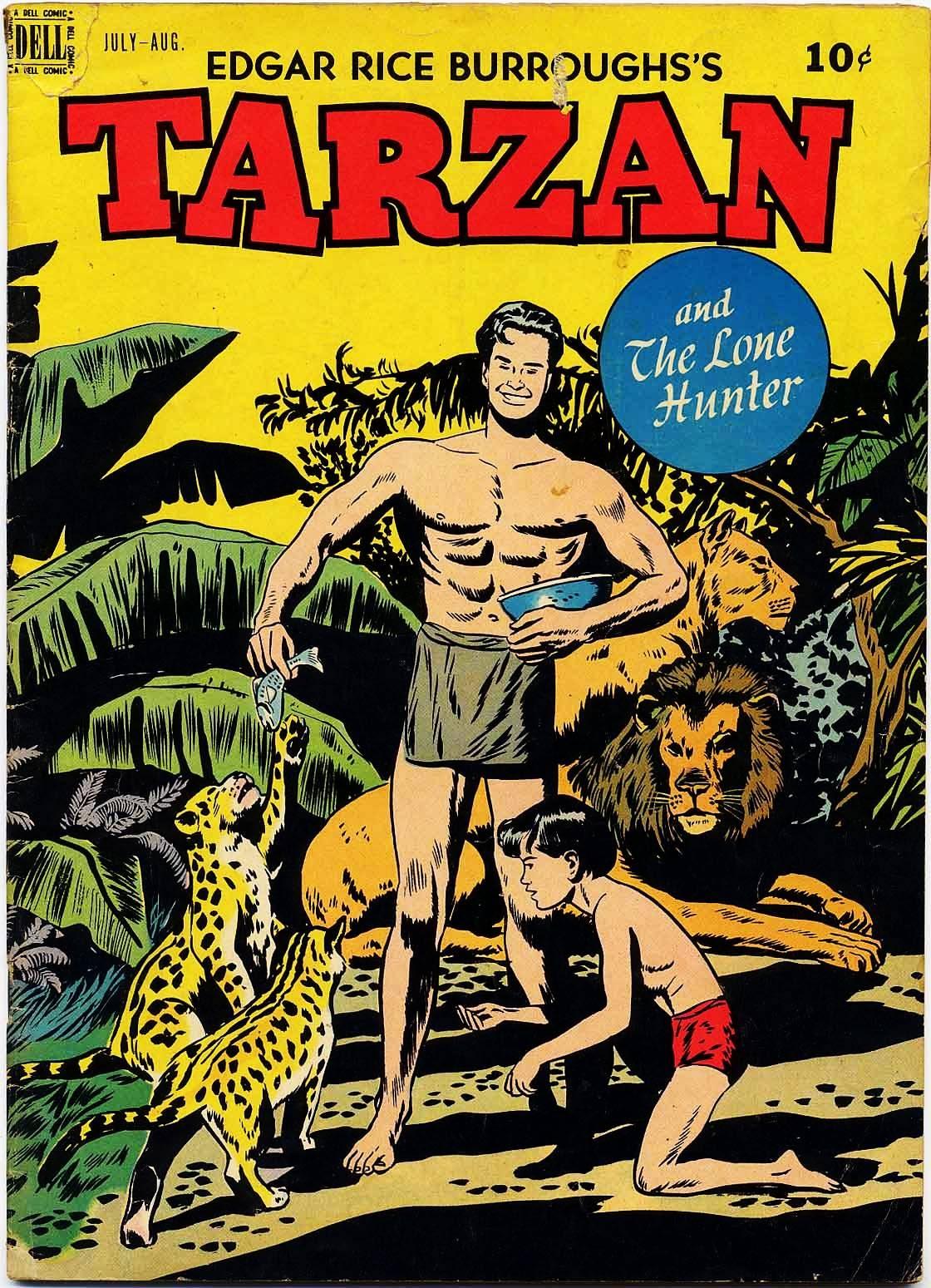 Tarzan (1948) issue 4 - Page 1