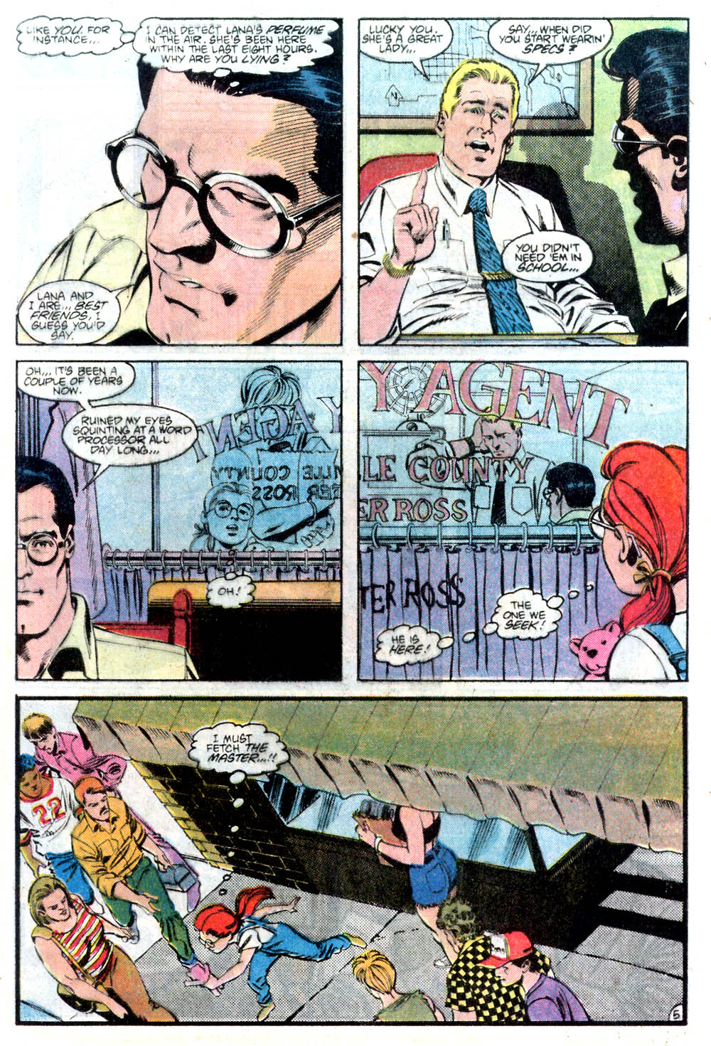 Read online Adventures of Superman (1987) comic -  Issue #436 - 6
