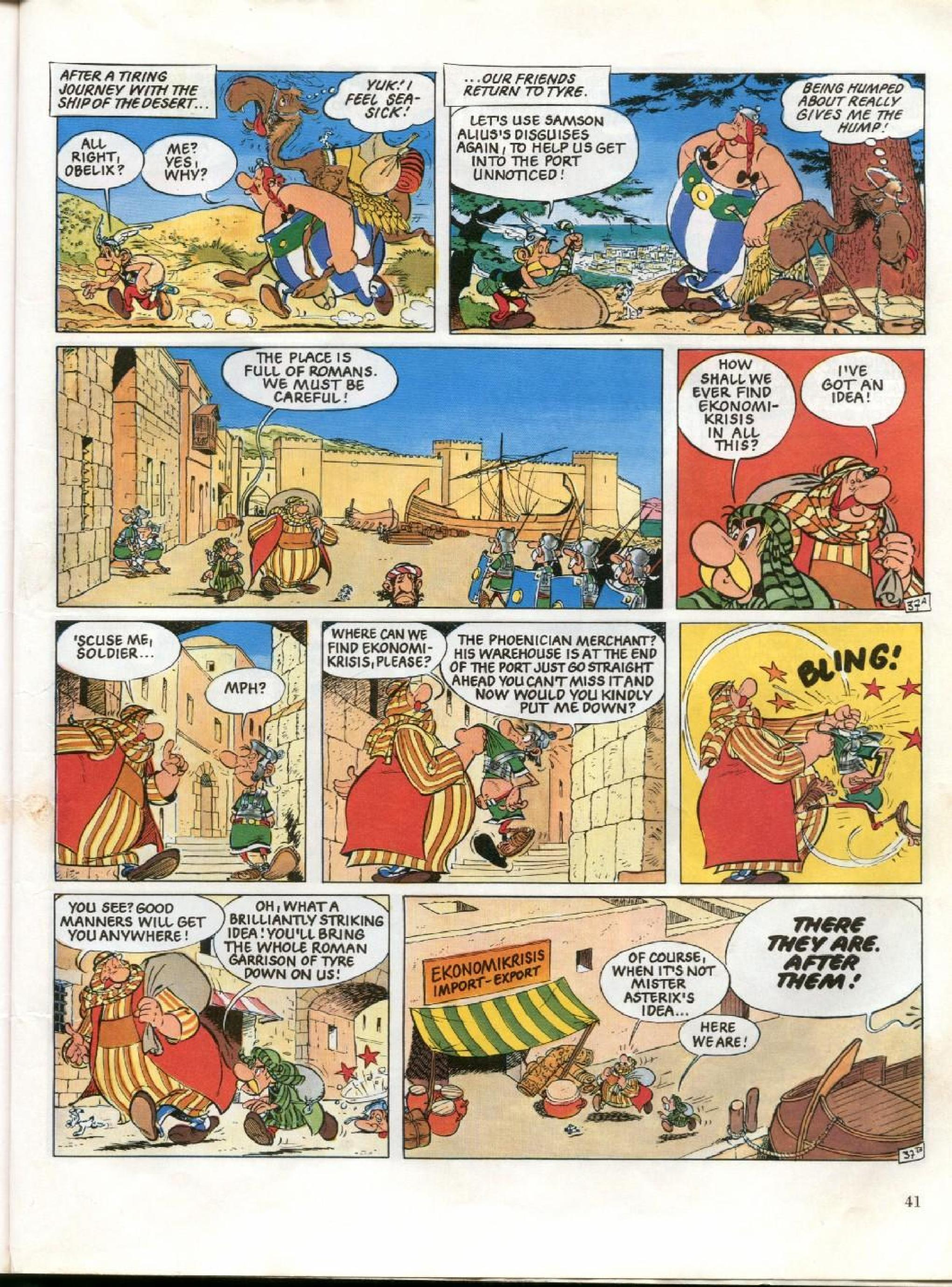 Read online Asterix comic -  Issue #26 - 38
