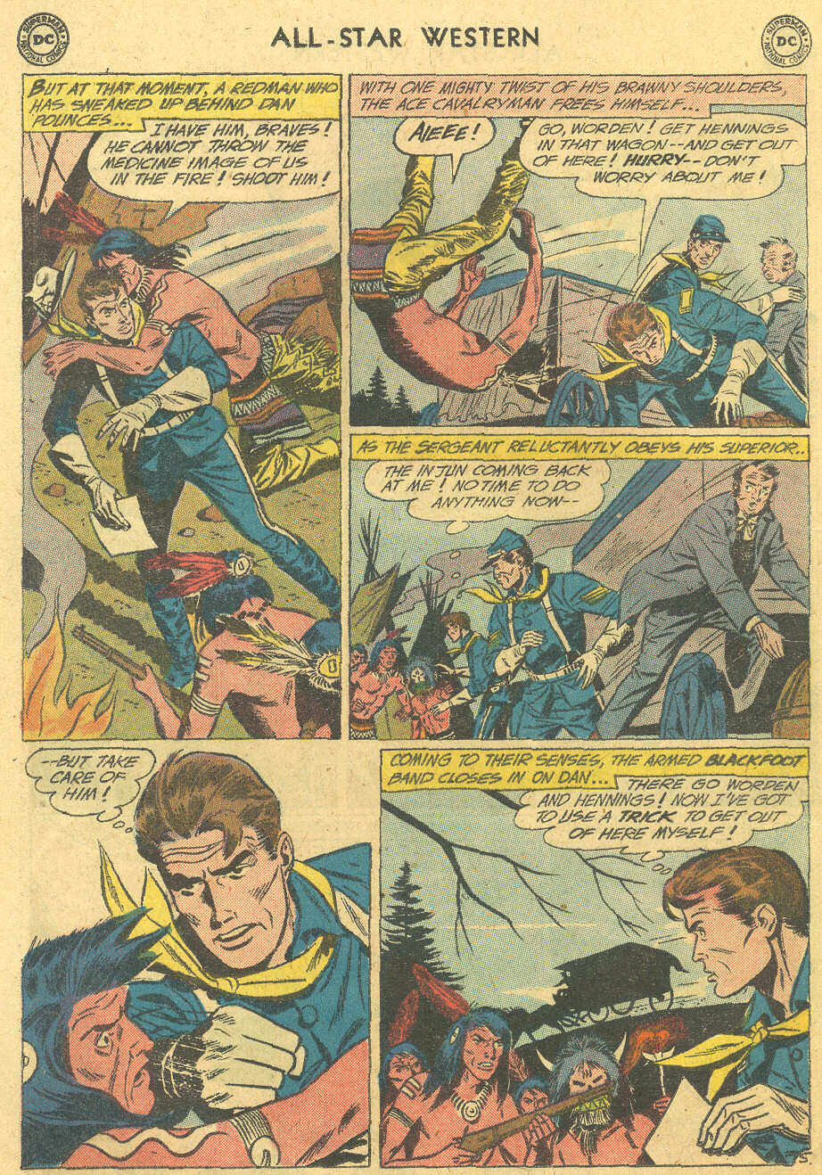 Read online All-Star Western (1951) comic -  Issue #114 - 20