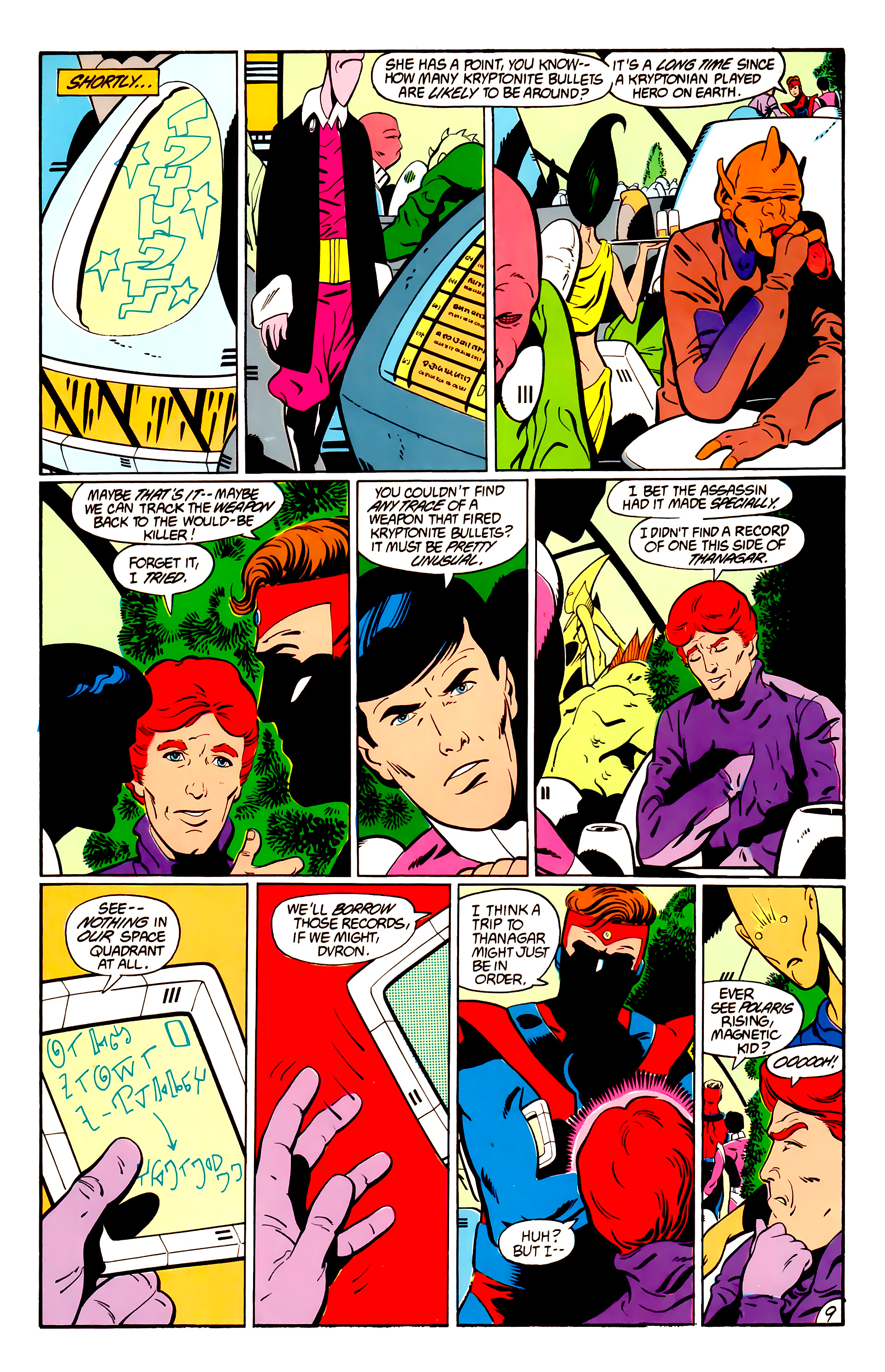 Legion of Super-Heroes (1984) _Annual_1 Page 10